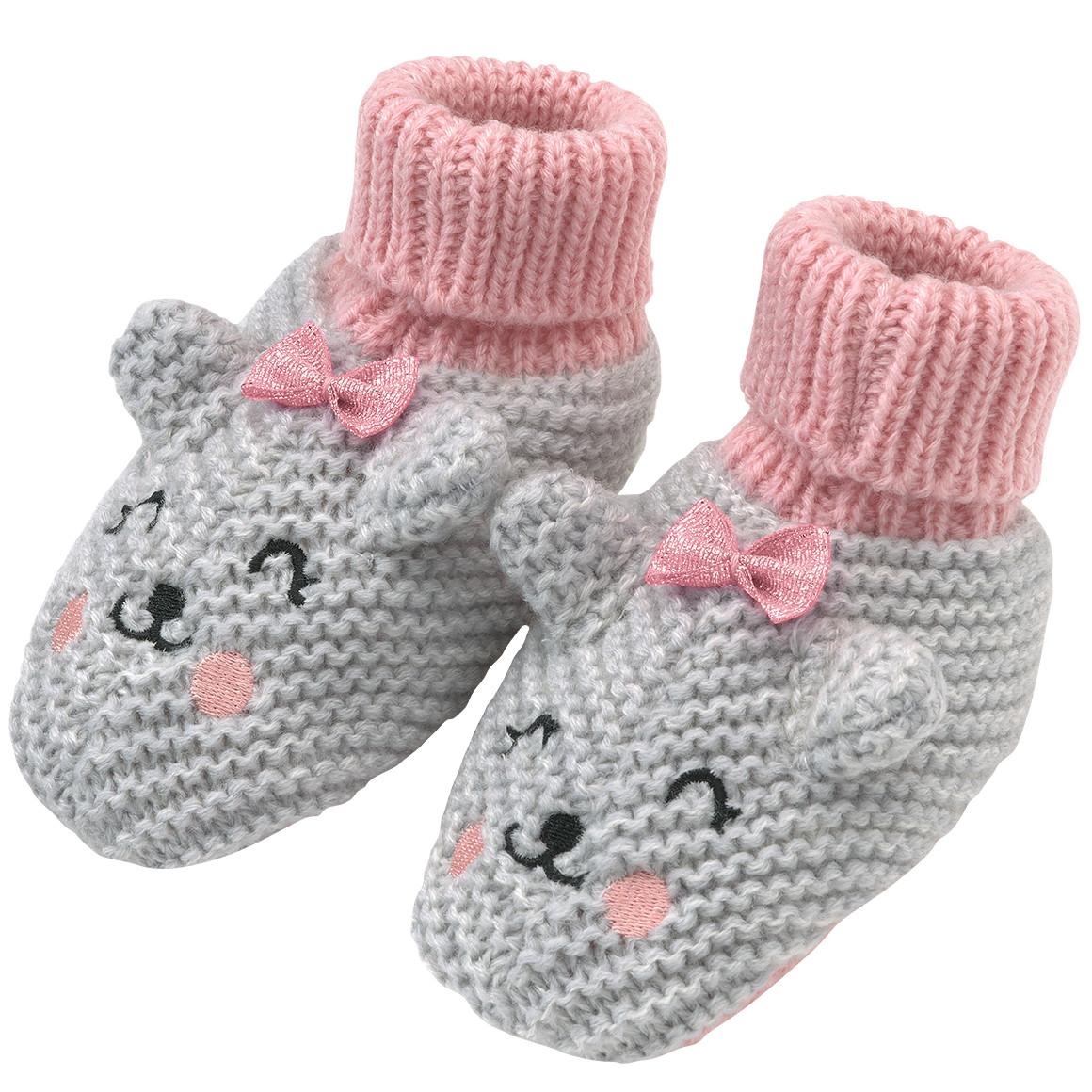 Baby Haussocken mit tierischem Motiv