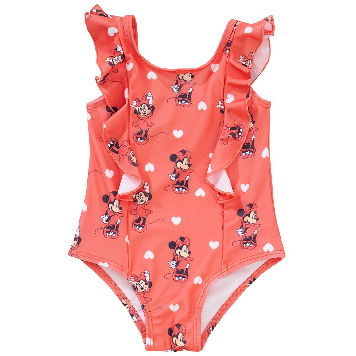 Minnie Maus UV Badeanzug mit Volant