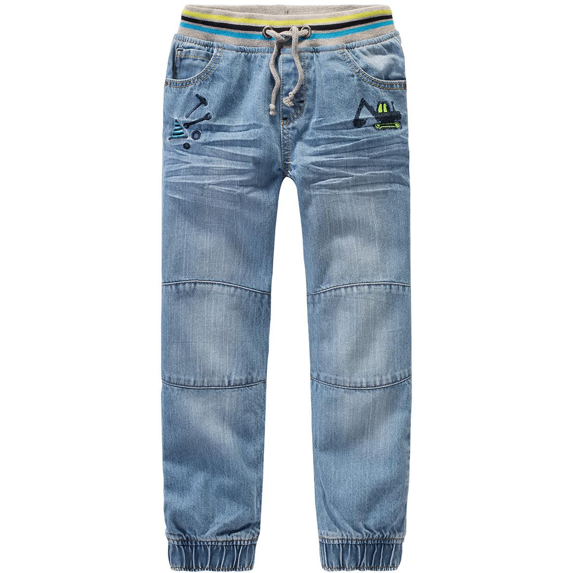 Jungen Pull On Jeans mit Tunnelzug