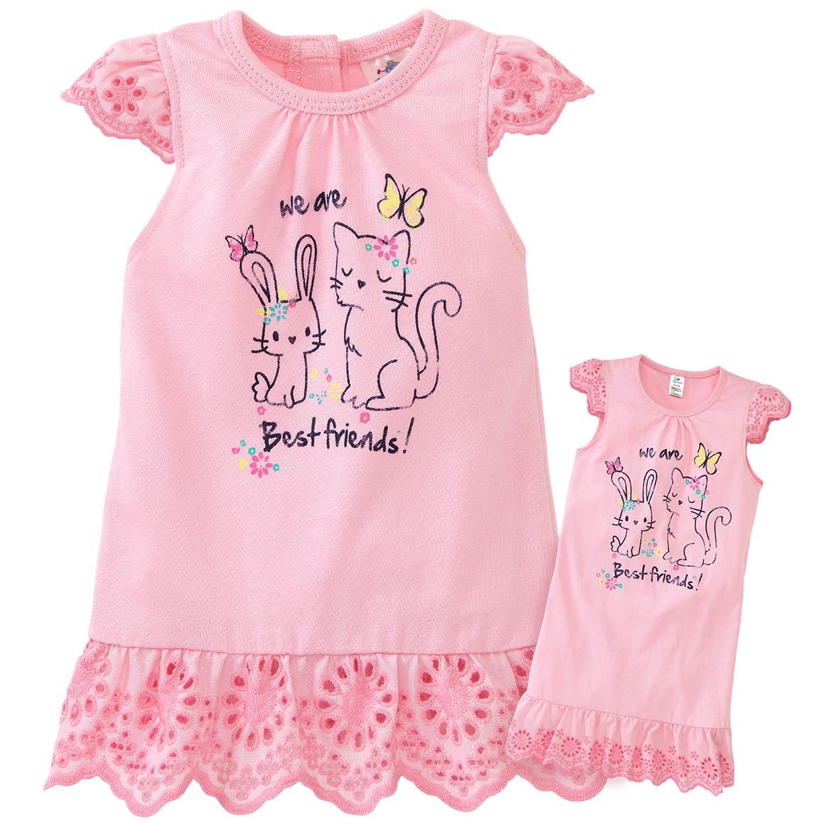 Mädchen Nachthemd mit Puppen Nachthemd