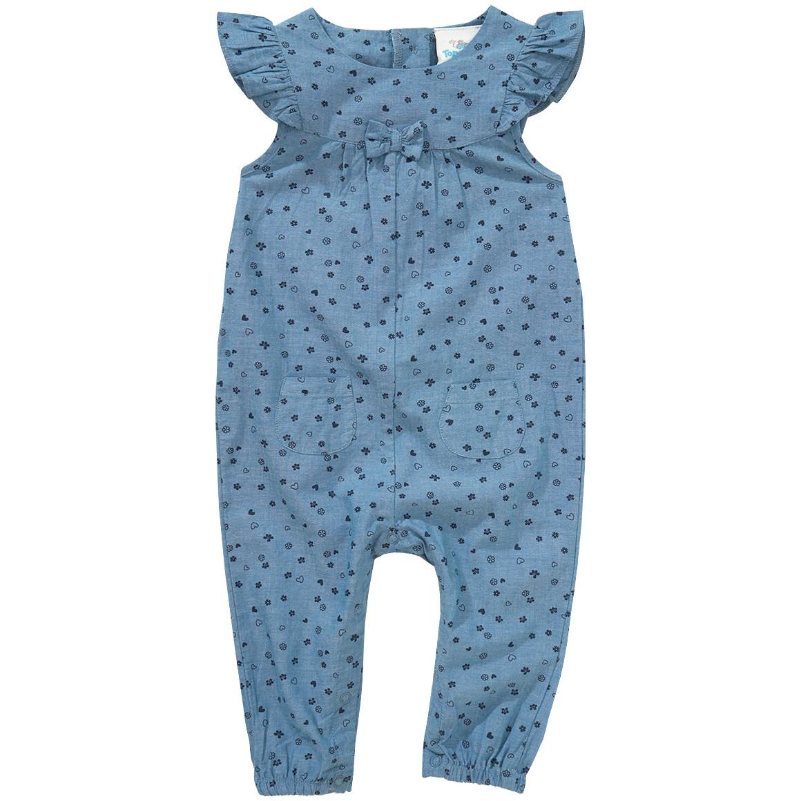 Baby Overall in Jeans Optik