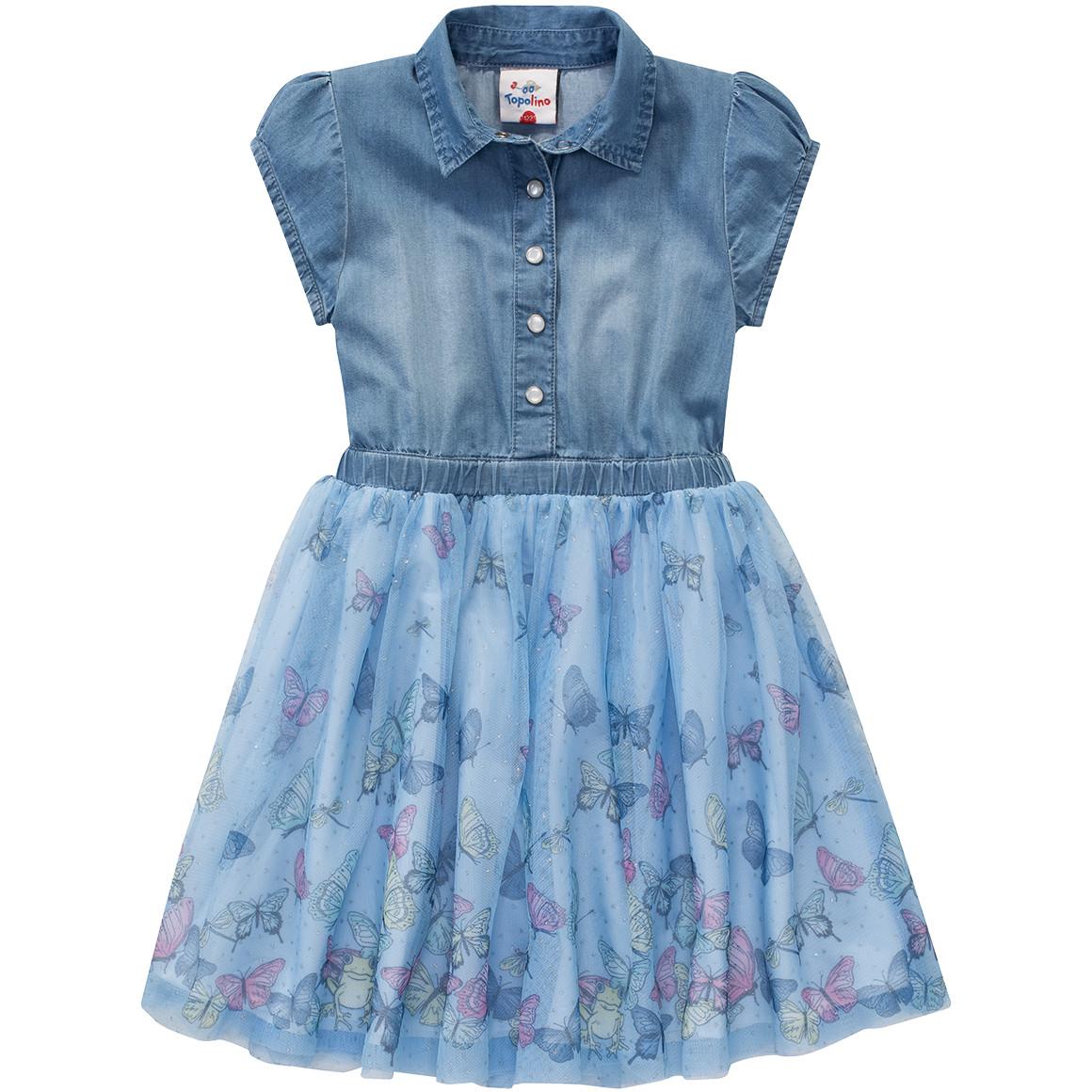 ca1648249352e4 Mädchen Kleid mit Tüll