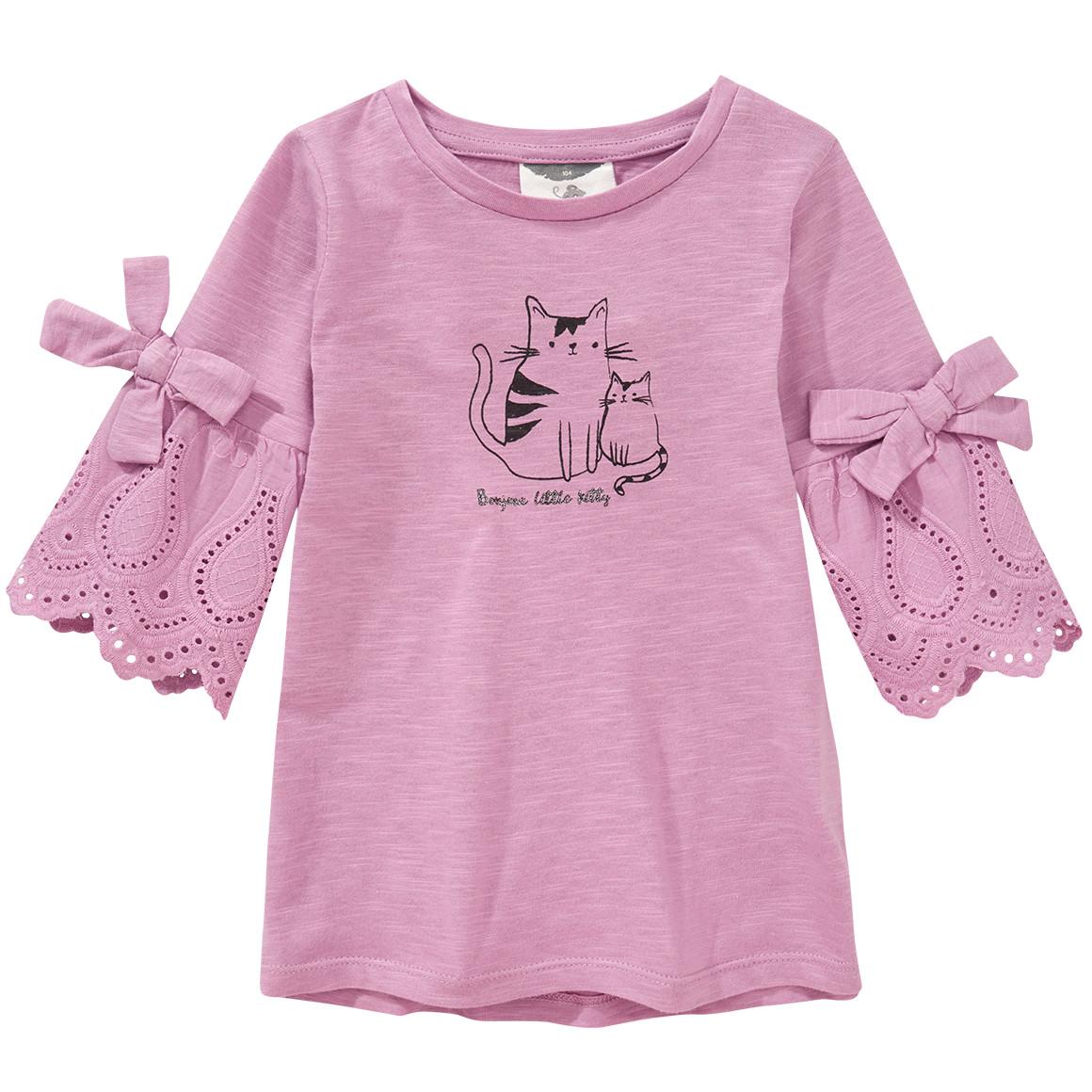 Mädchen T-Shirt mit Volant
