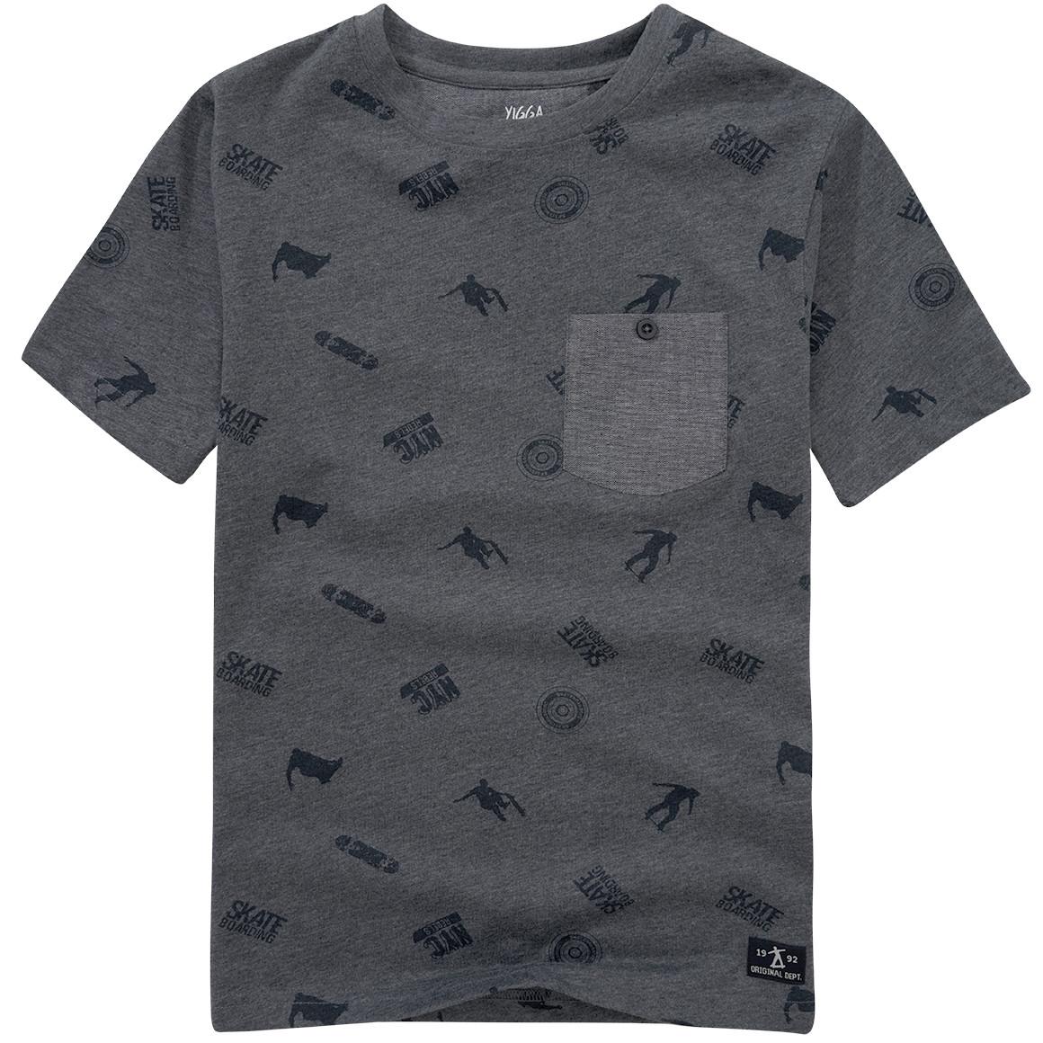 Jungen T-Shirt mit Skater Print