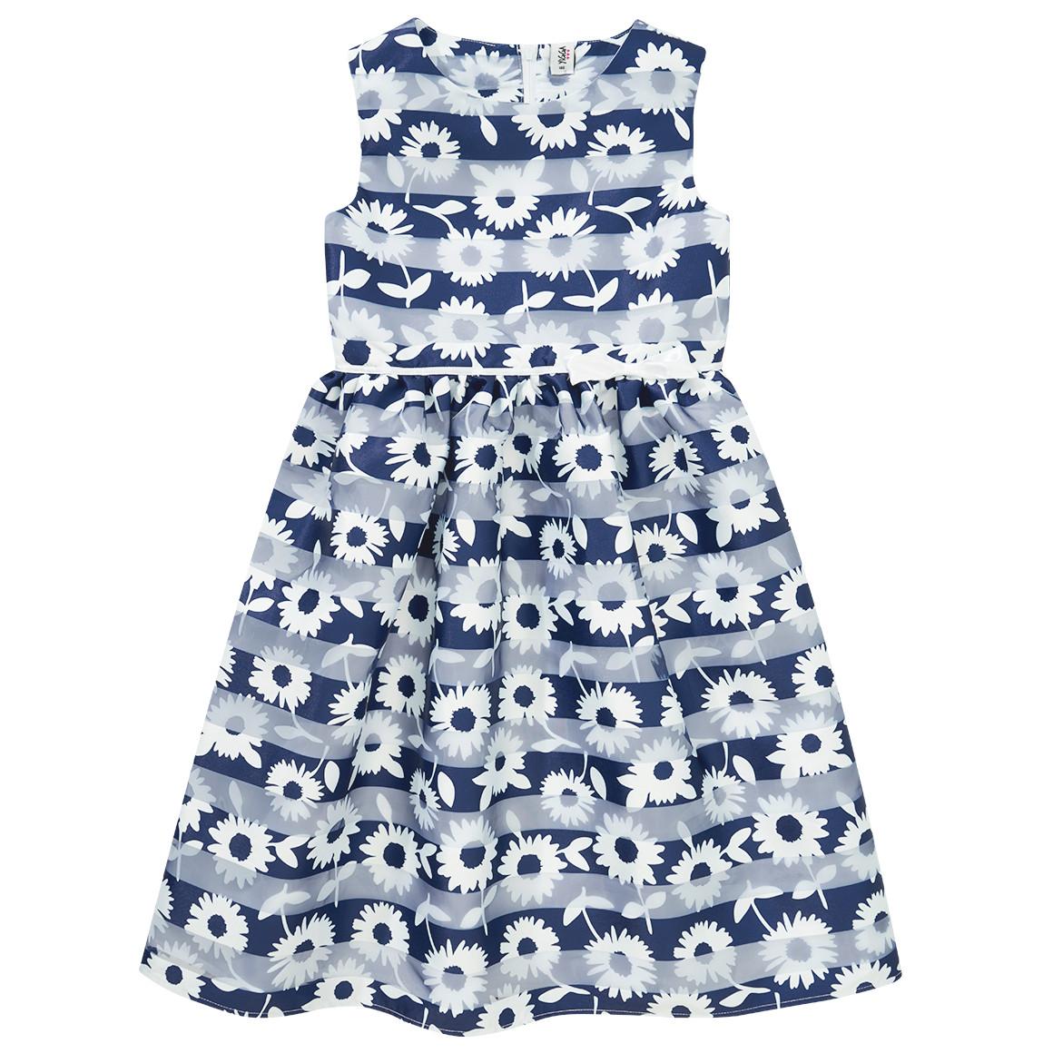 Festliches Mädchen Kleid in A Linie