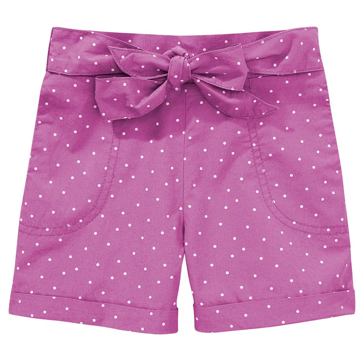 Mädchen Shorts mit Punkte Allover