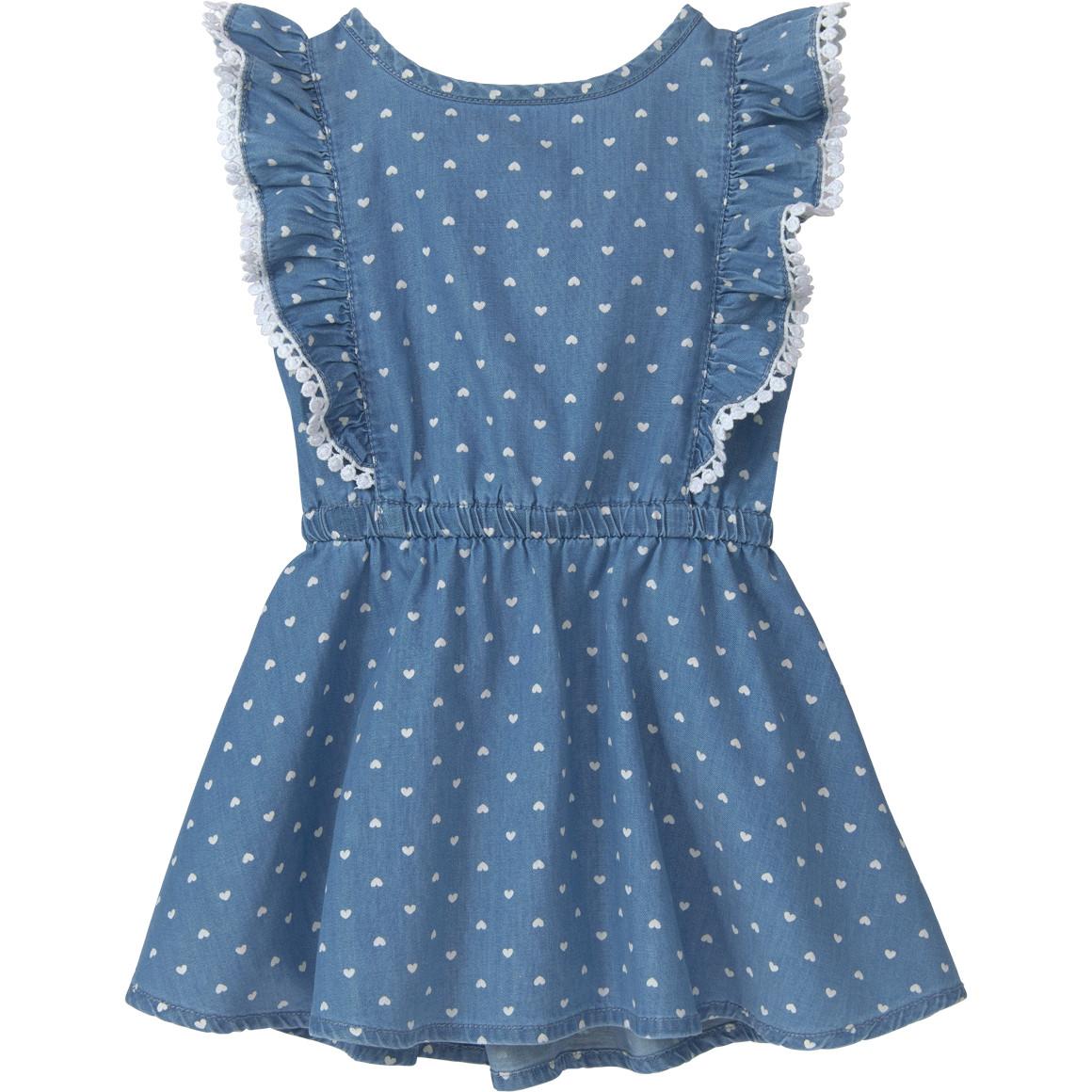 Baby Kleid mit Herzchen Print