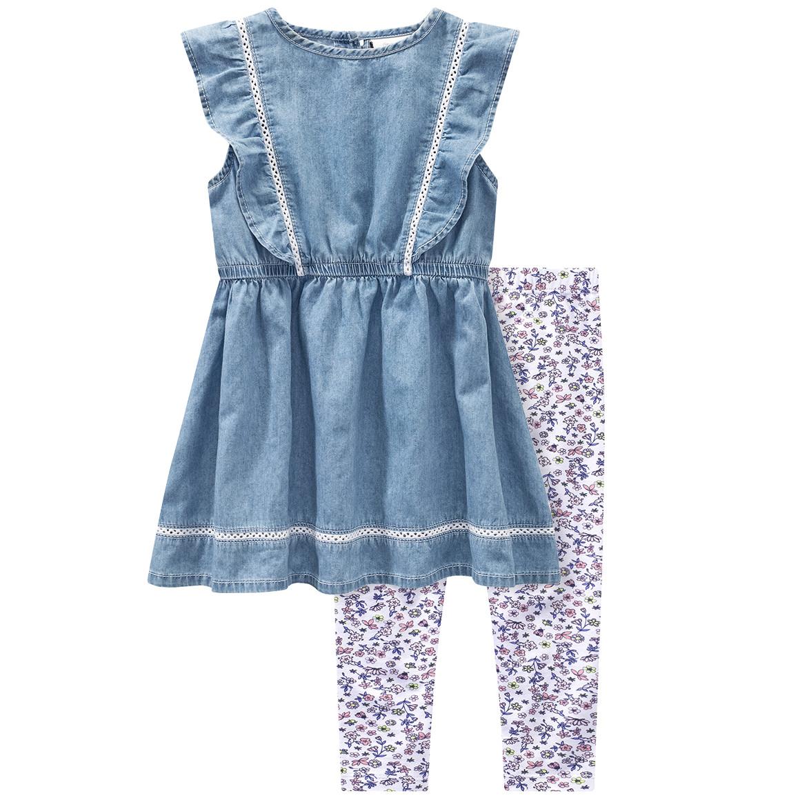 Baby Kleid und Capri Leggings