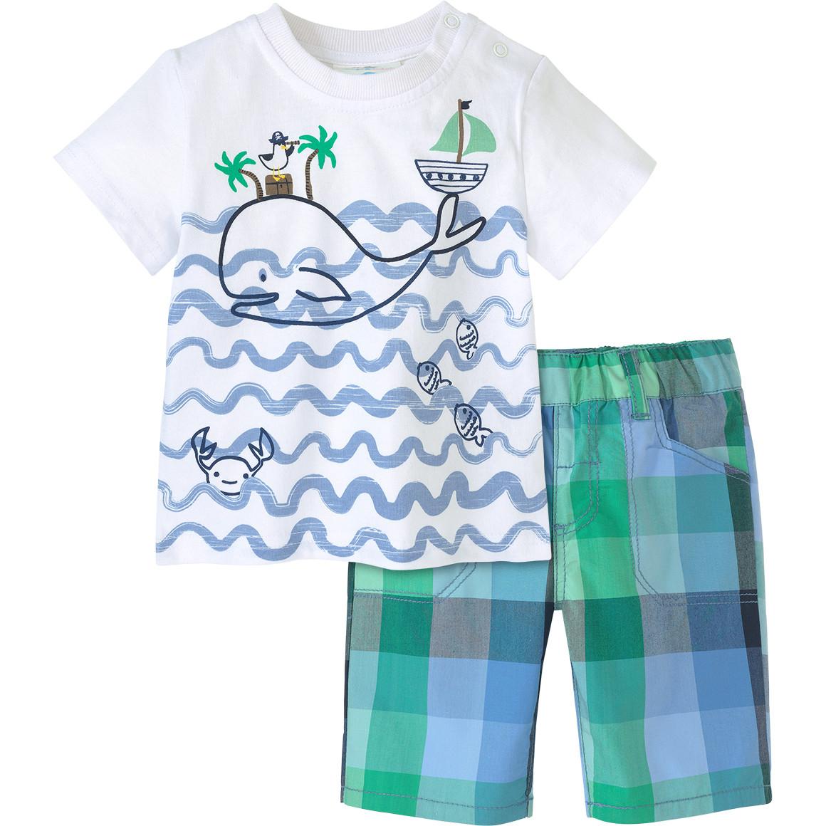 Baby T-Shirt und Shorts im Set