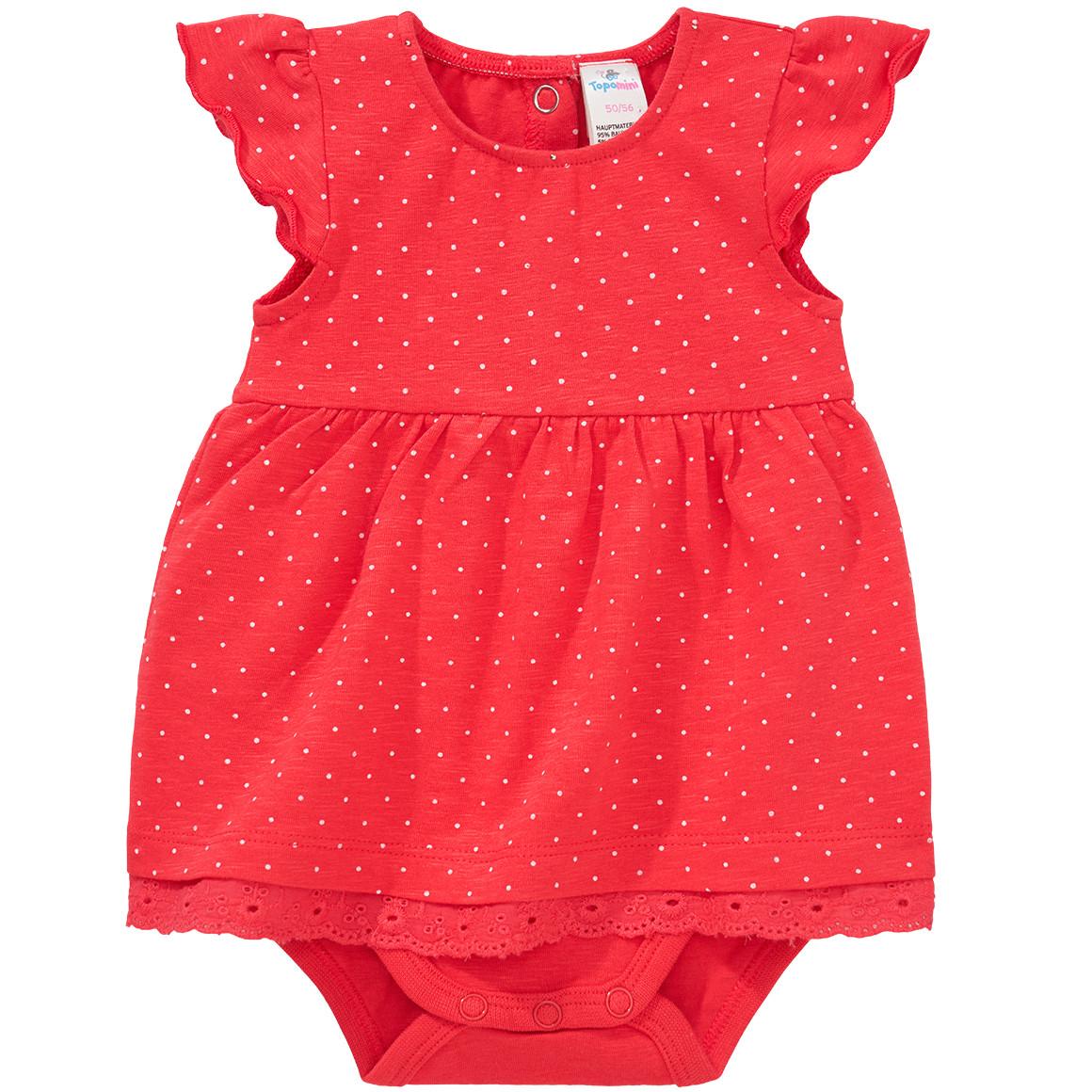 Baby Bodykleid mit Punkten