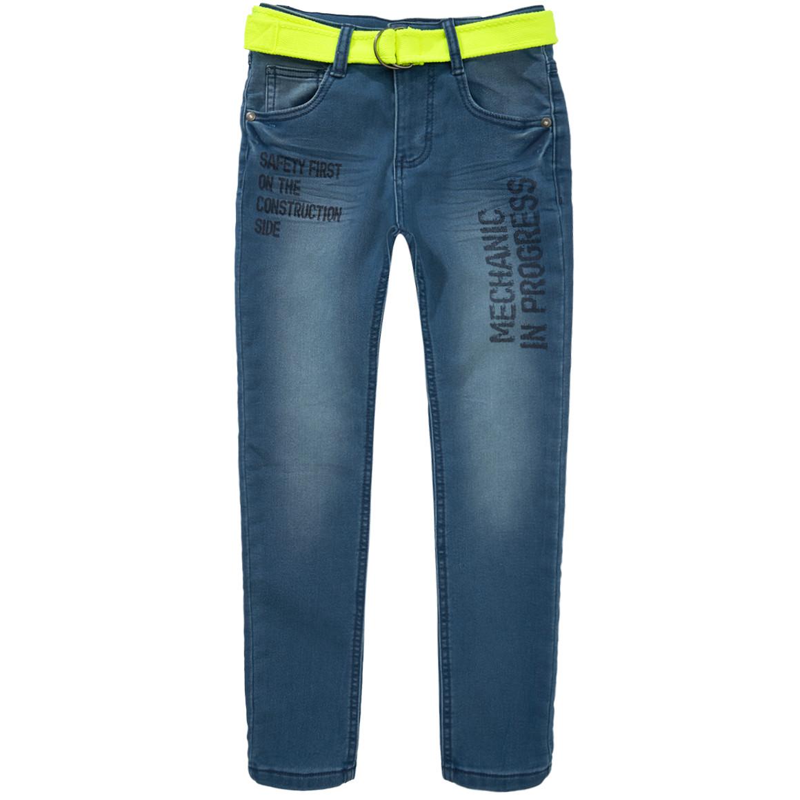 Jungen Slim Jeans mit Print
