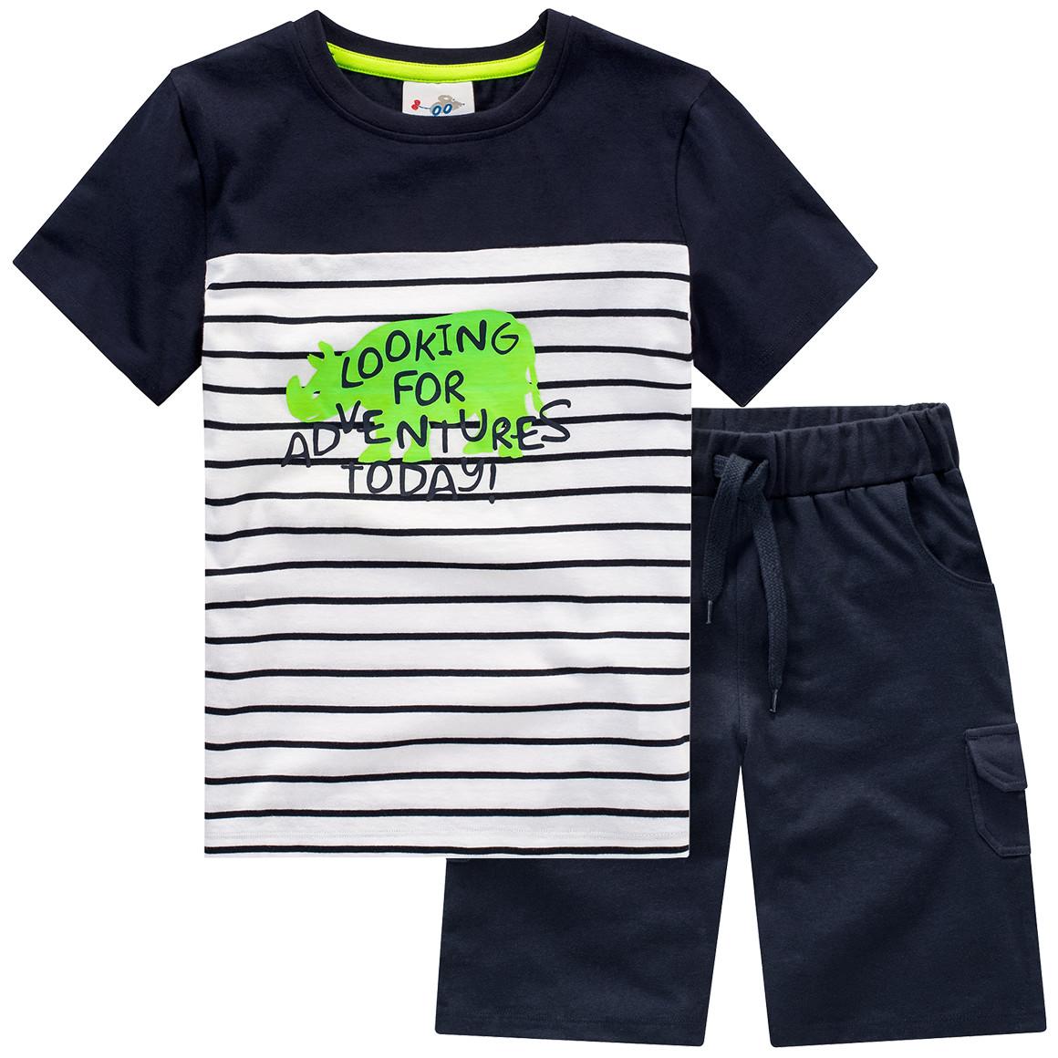 Jungen T-Shirt und Shorts im Set