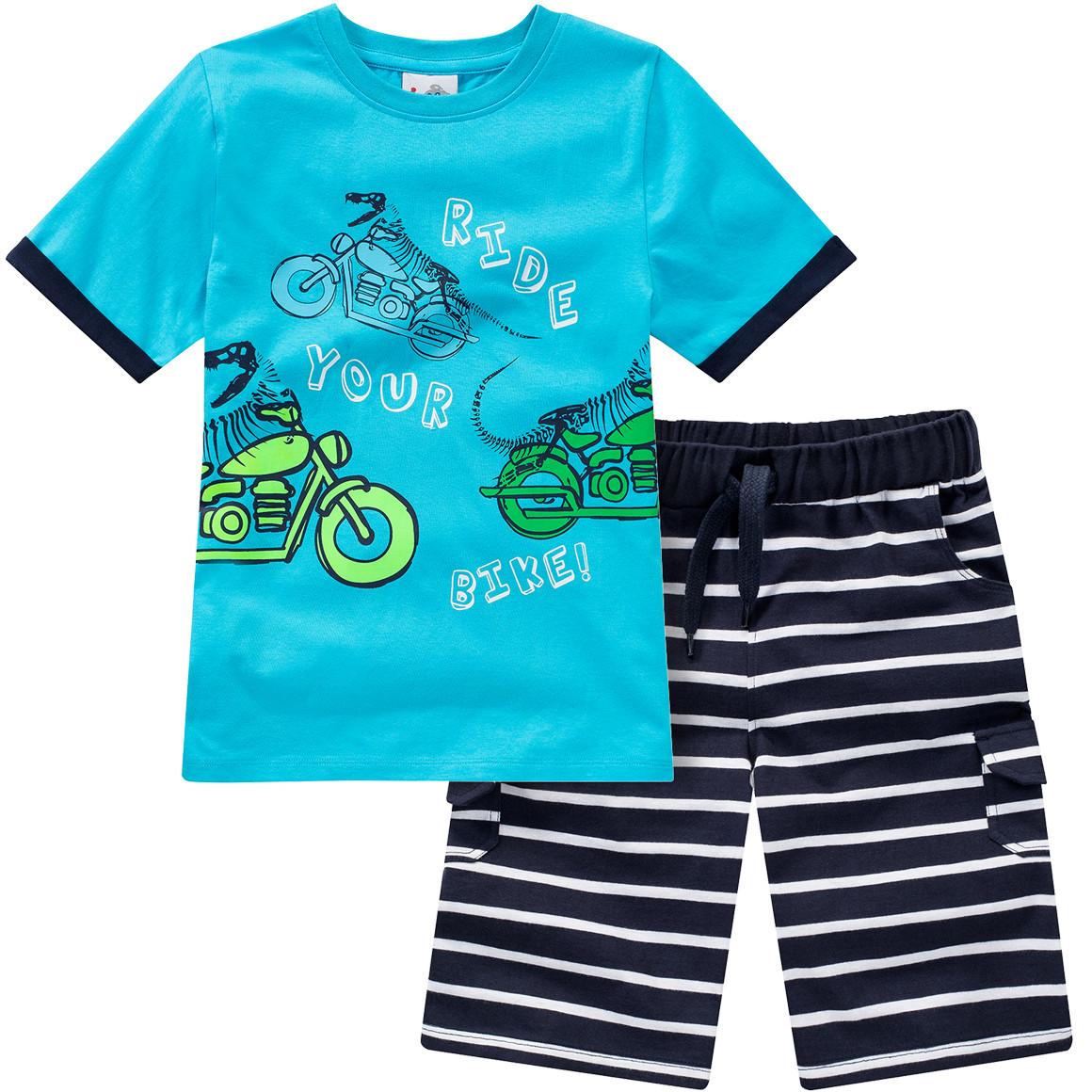 Jungen T-Shirt und Joggingshorts im Set