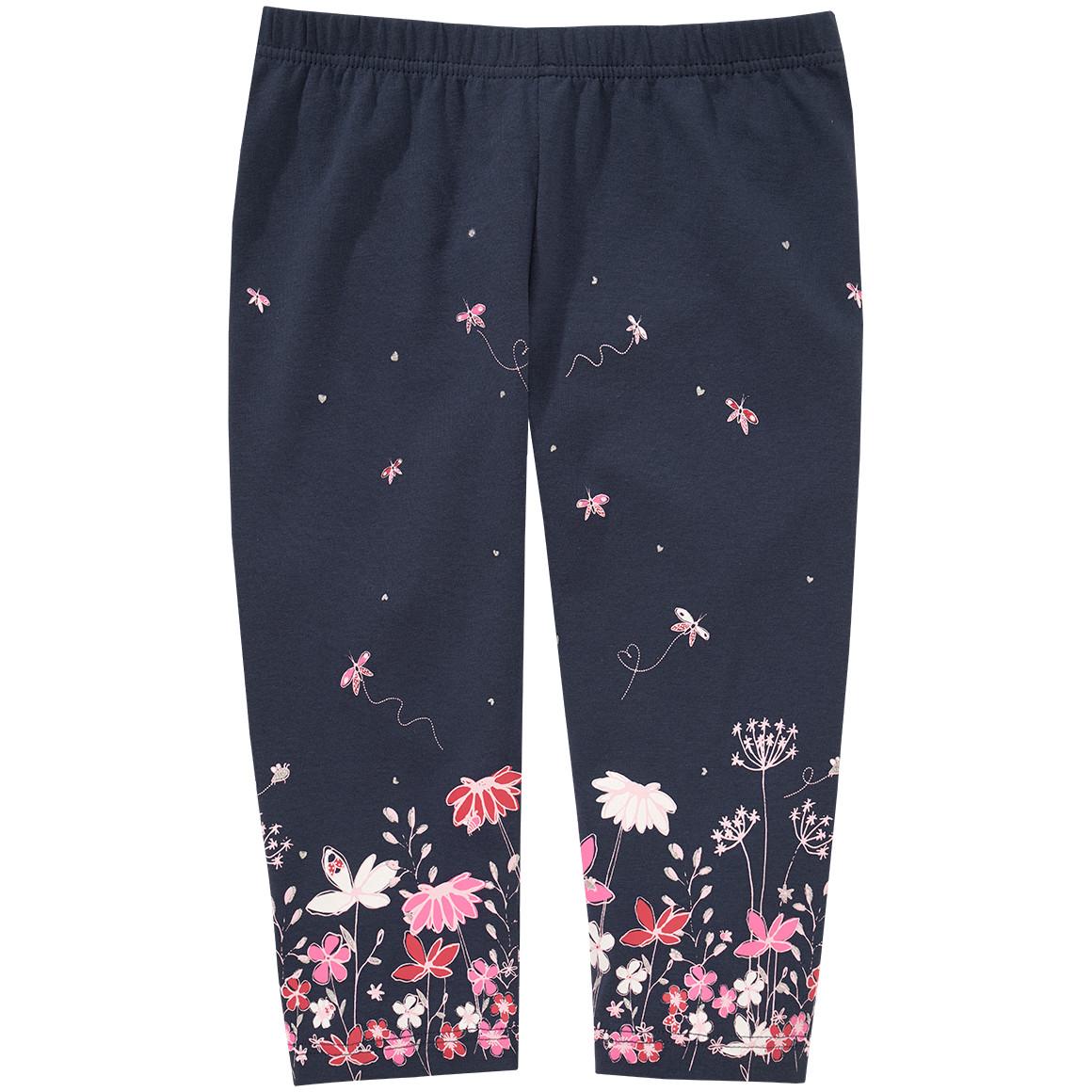 Mädchen Capri Leggings mit buntem Print