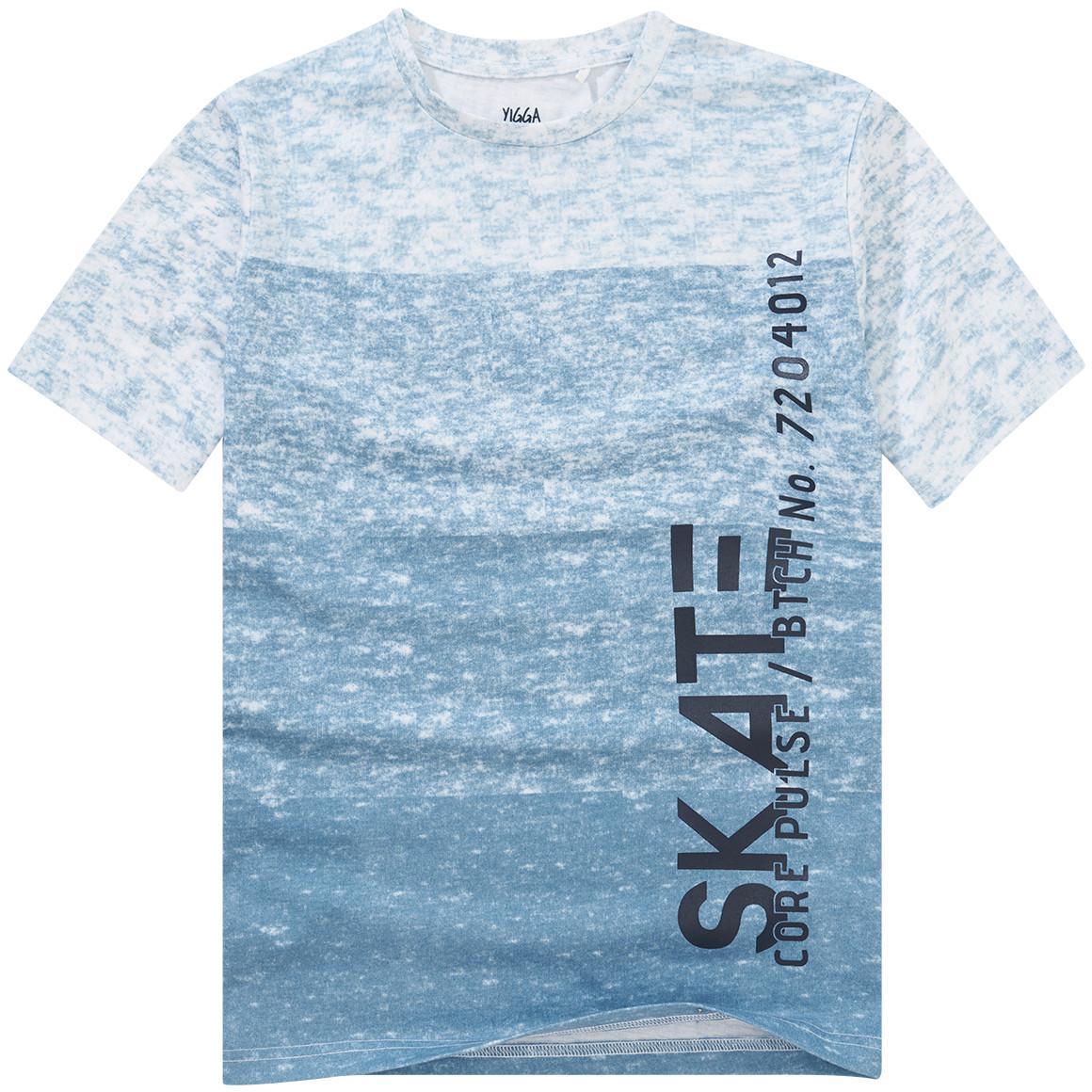 Jungen T-Shirt mit Panel Print