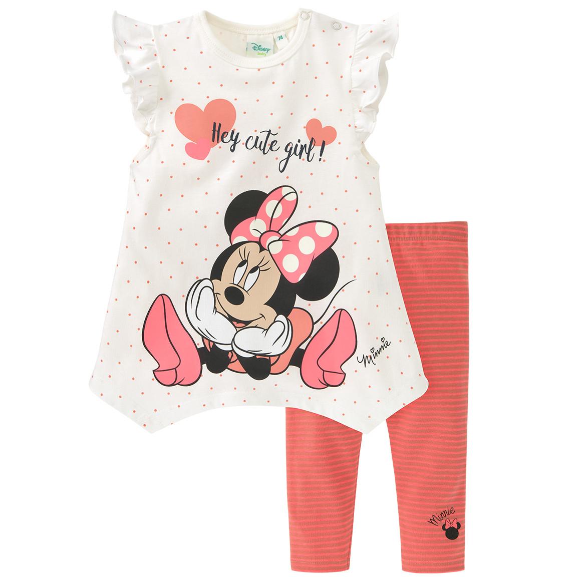 Minnie Maus T-Shirt und Leggings im Set