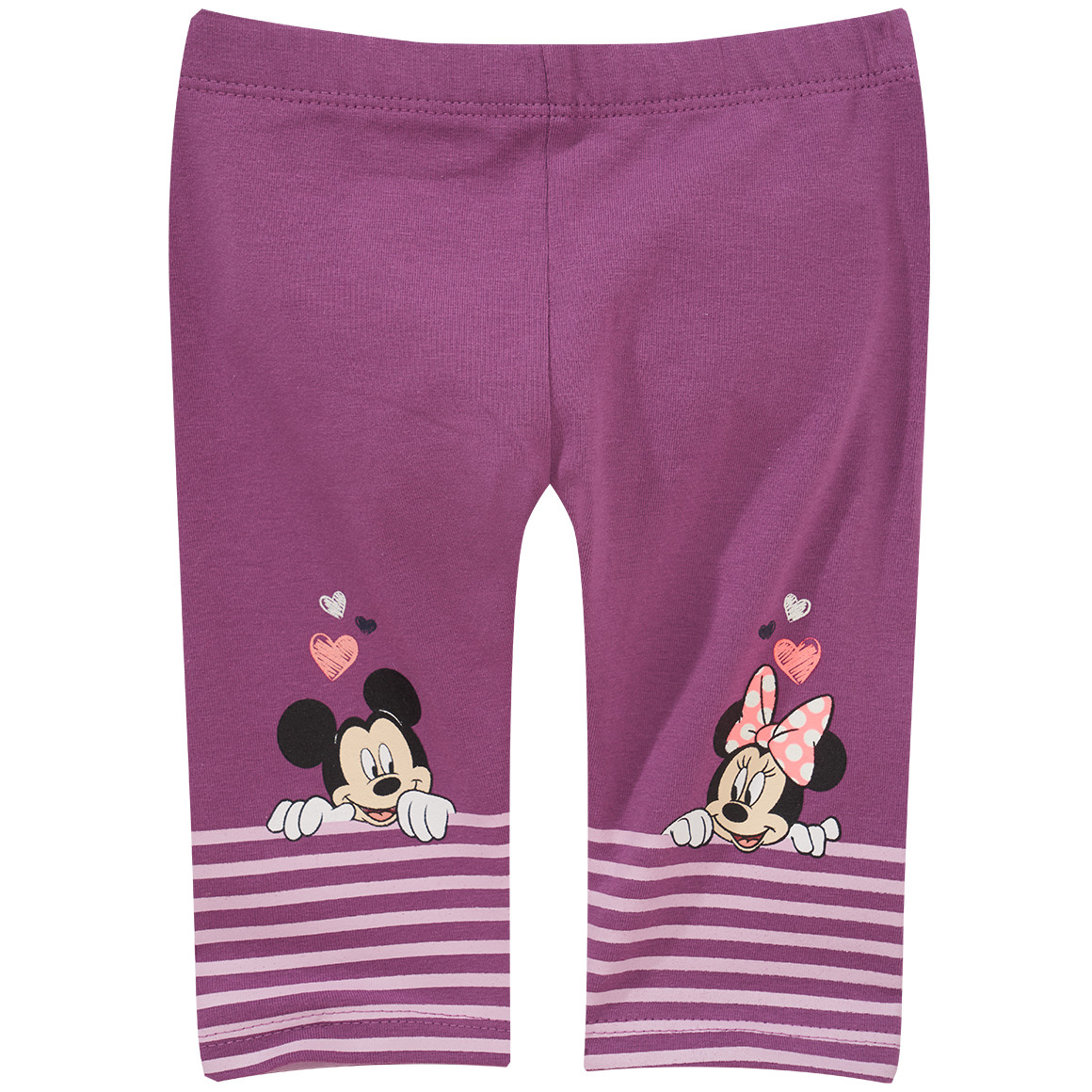 Minnie Maus Capri Leggings mit Print