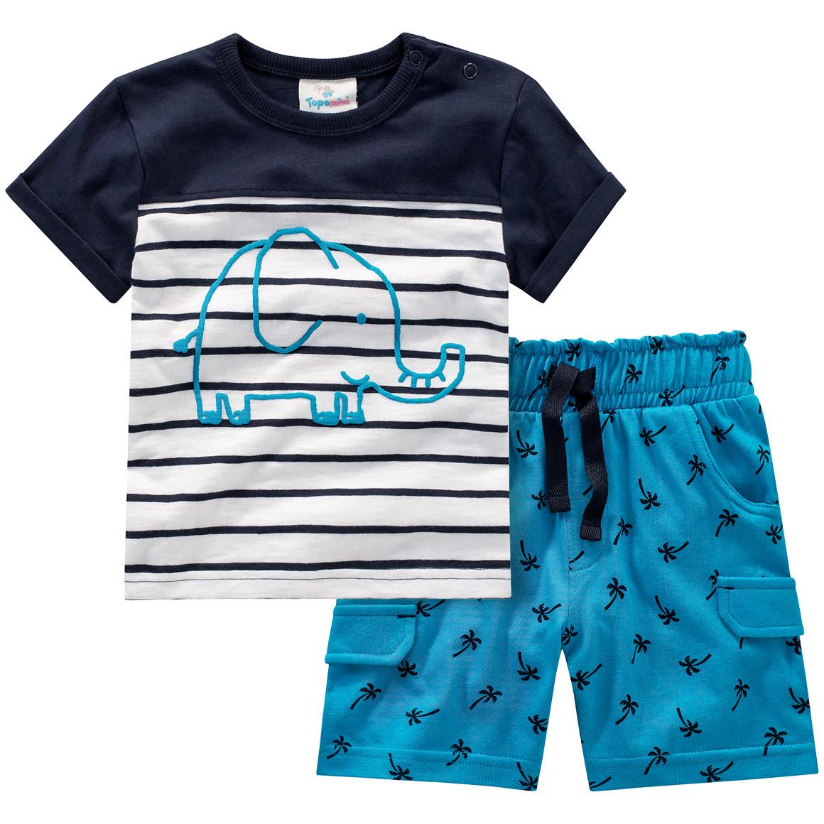 Baby T-Shirt und Shorts
