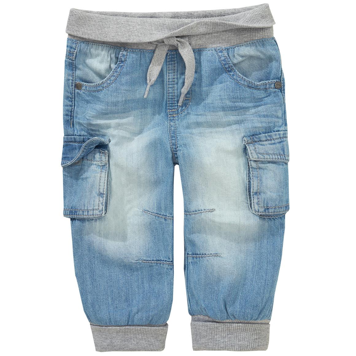 Baby Jeans mit heller Waschung