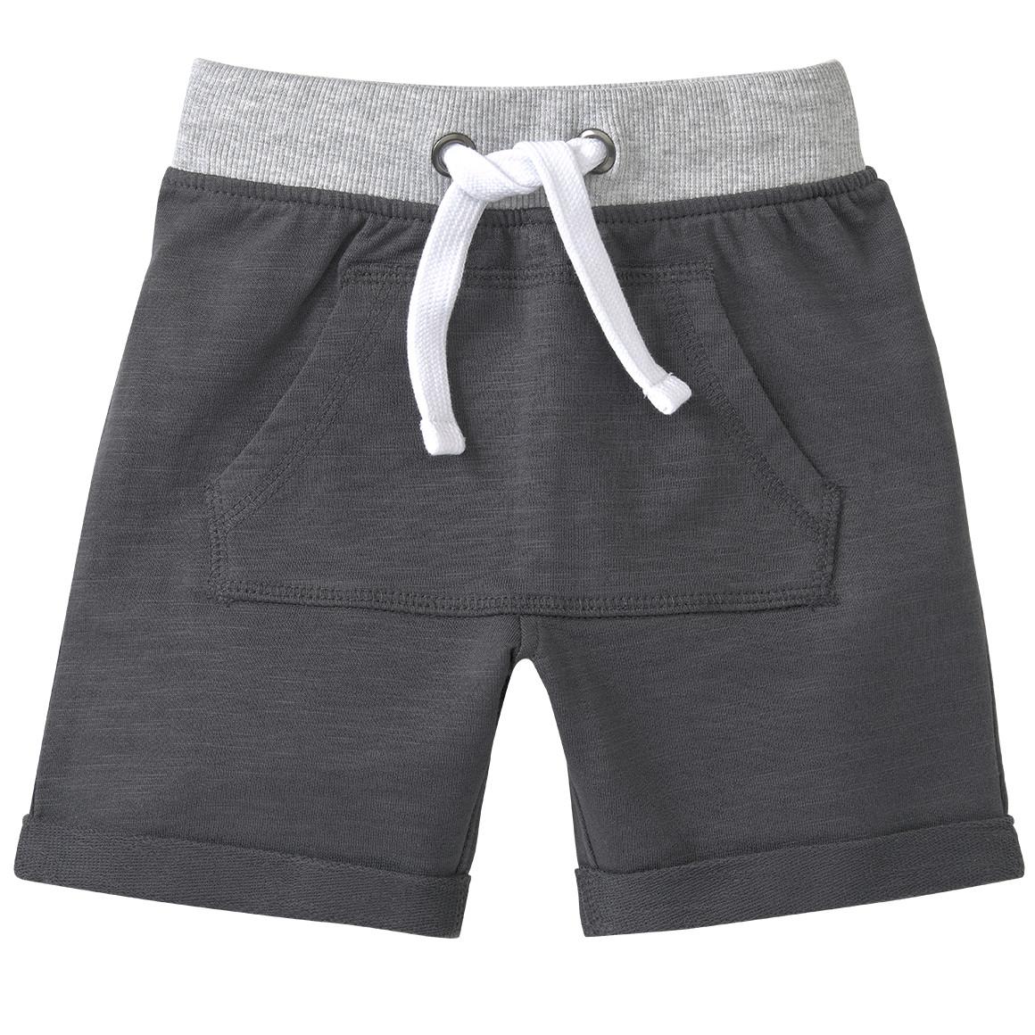 Baby Shorts mit Kängurutasche