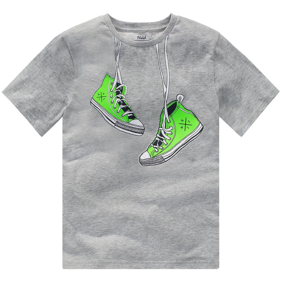 Jungen T-Shirt mit Sneaker Motiv
