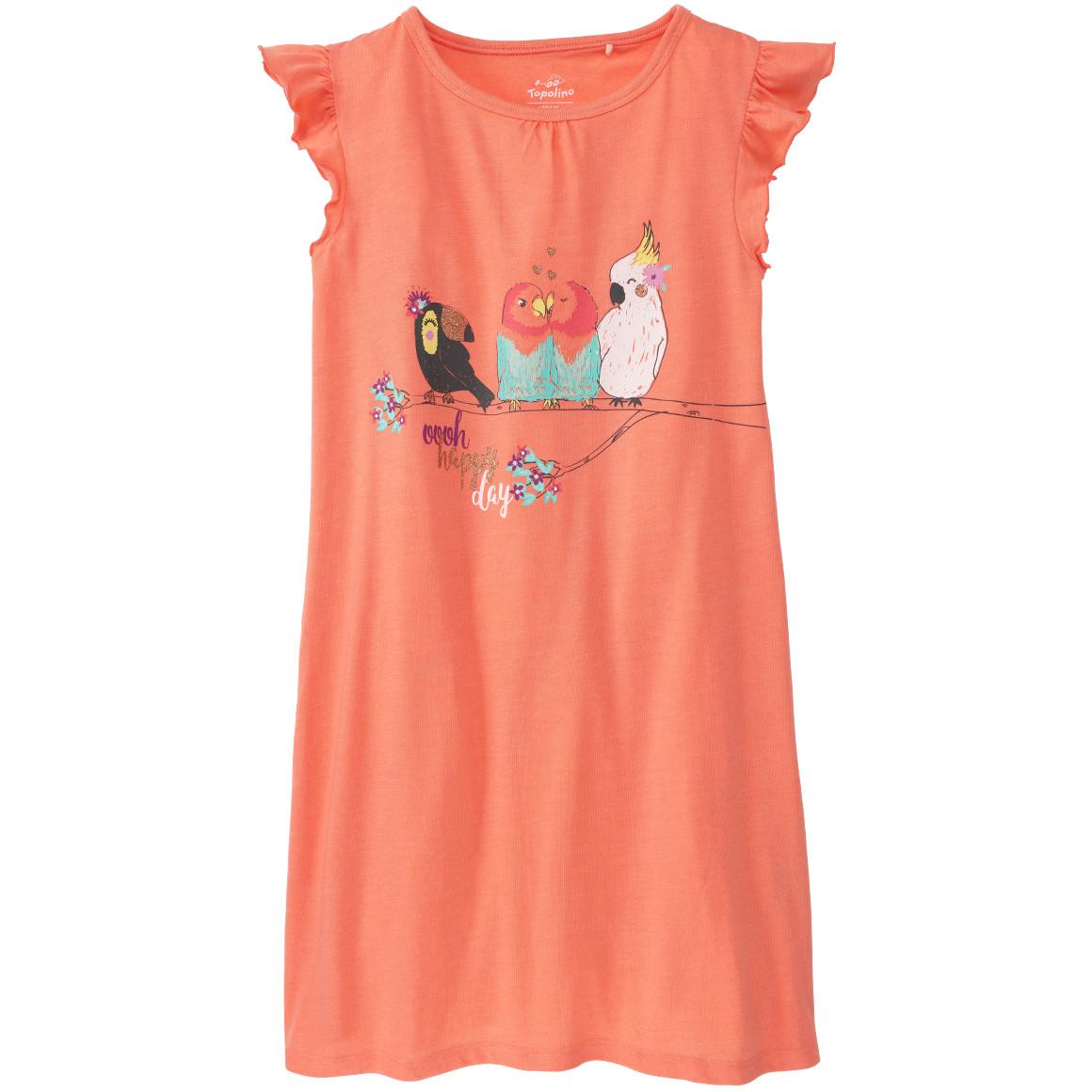 Mädchen Nachthemd mit Rüschen