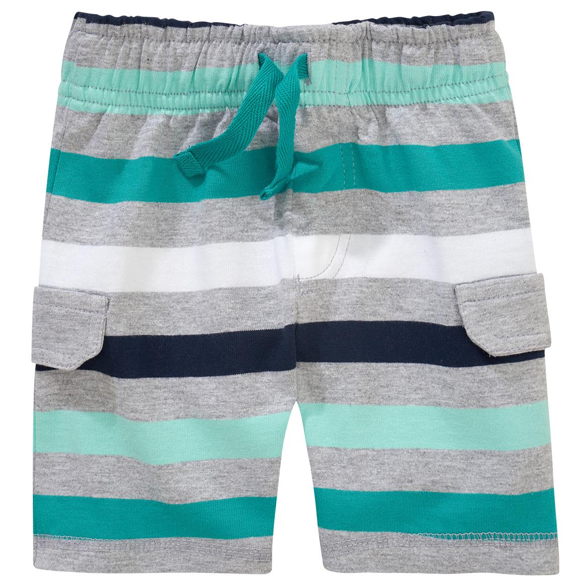 Baby Shorts im gestreiften Look