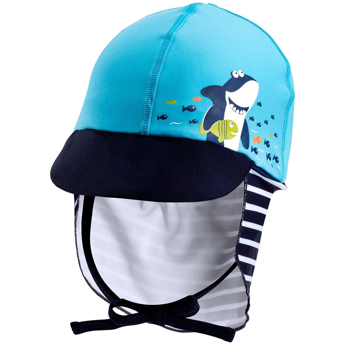 Baby UV Kappe mit Fisch Print