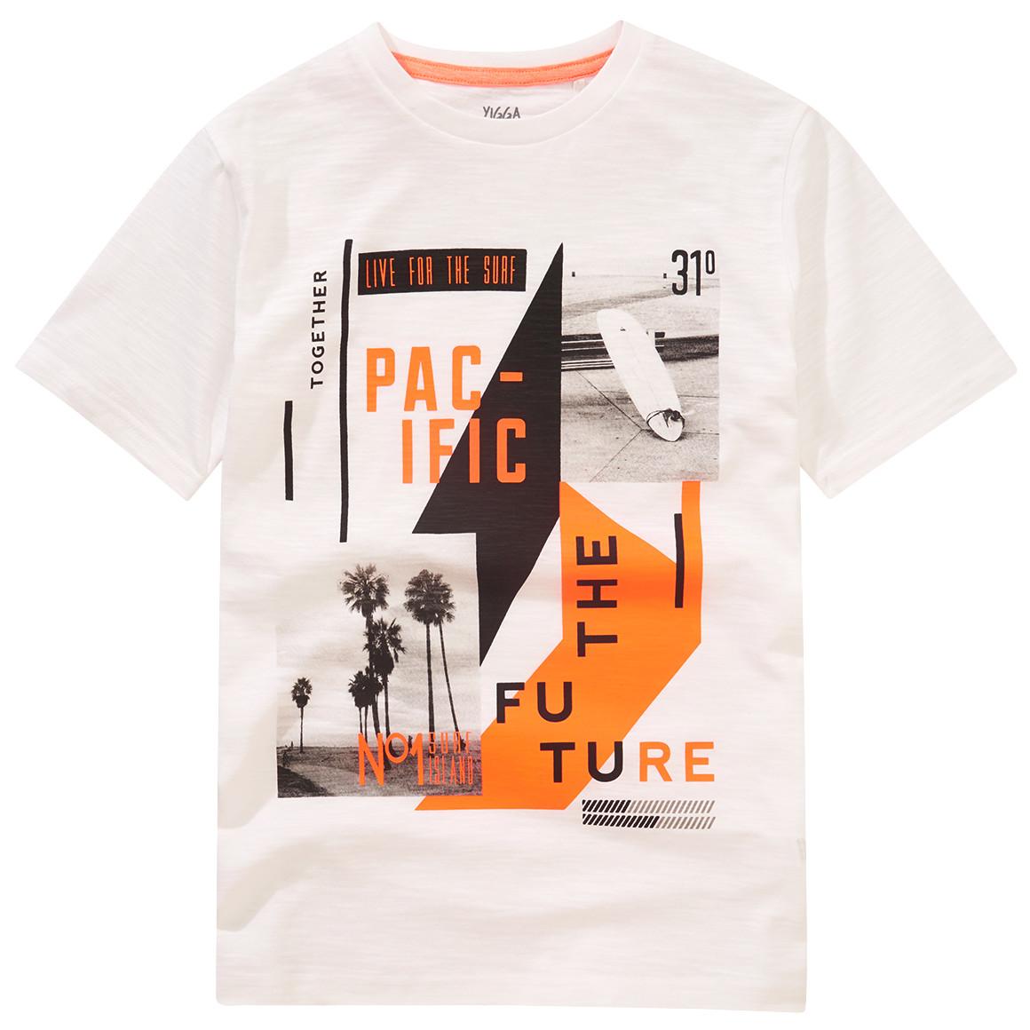Jungen T-Shirt mit Foto Print