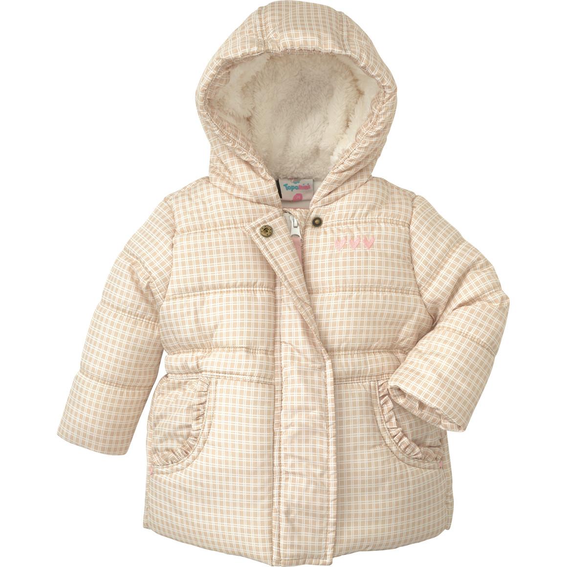Baby Winterjacke mit Teddyplüsch