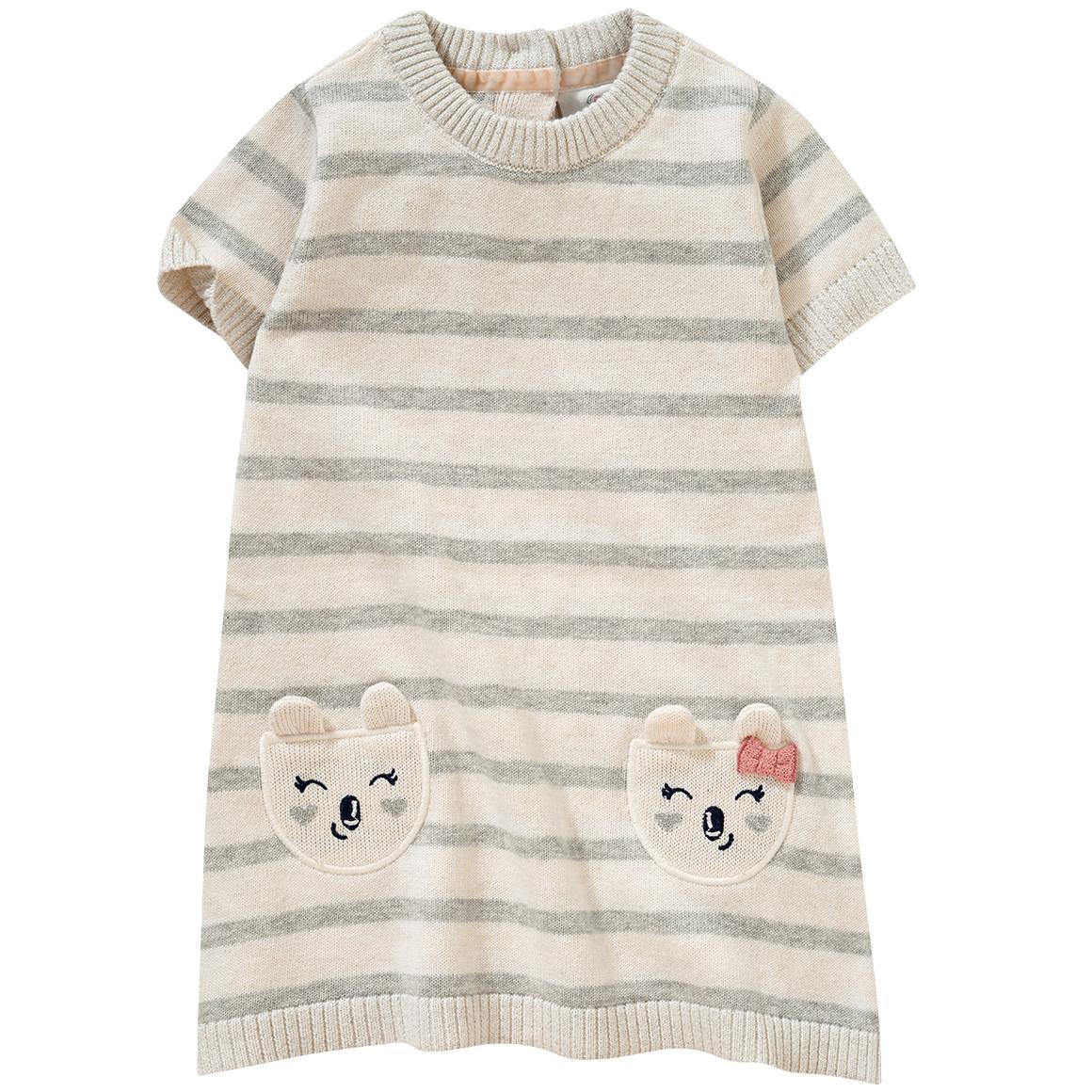 Babykleiderroecke - Baby Strickkleid mit Glitzer - Onlineshop Ernstings family