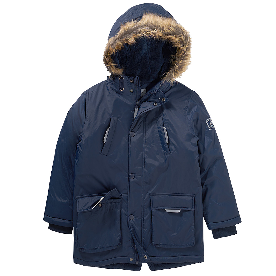 Boysjacken - Jungen Parka mit Kapuze - Onlineshop Ernstings family