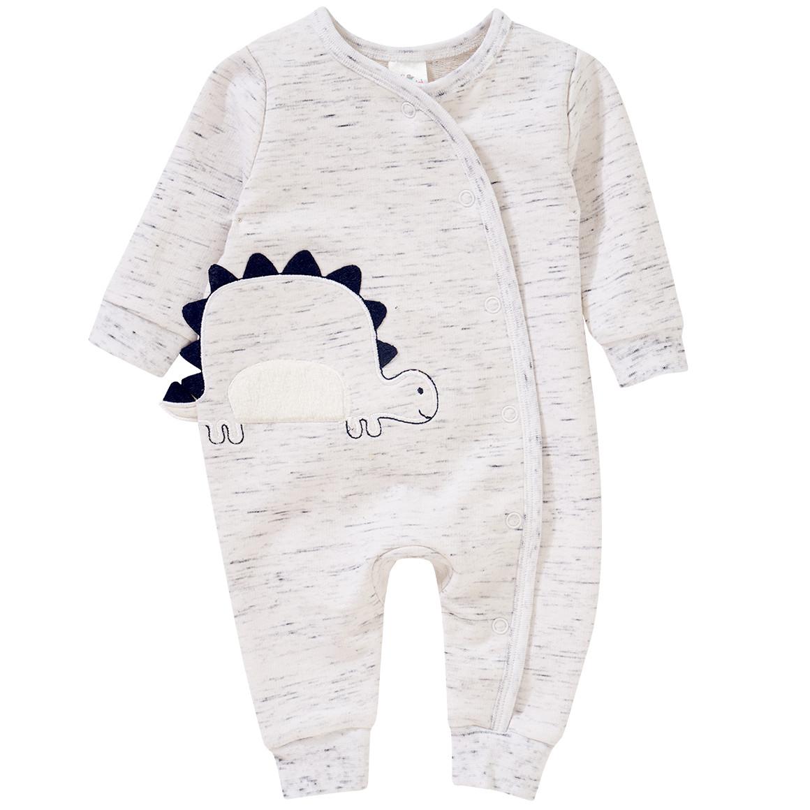 Babywaesche - Newborn Schlafanzug mit Dino Applikation - Onlineshop Ernstings family