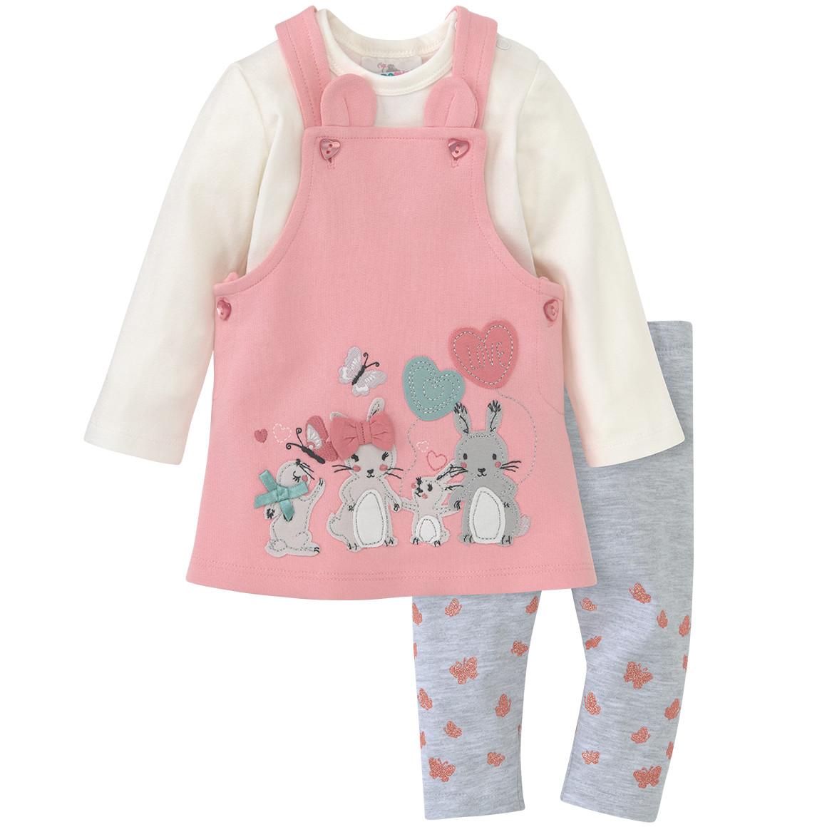 Newborn Kleid, Langarmbody und Leggings