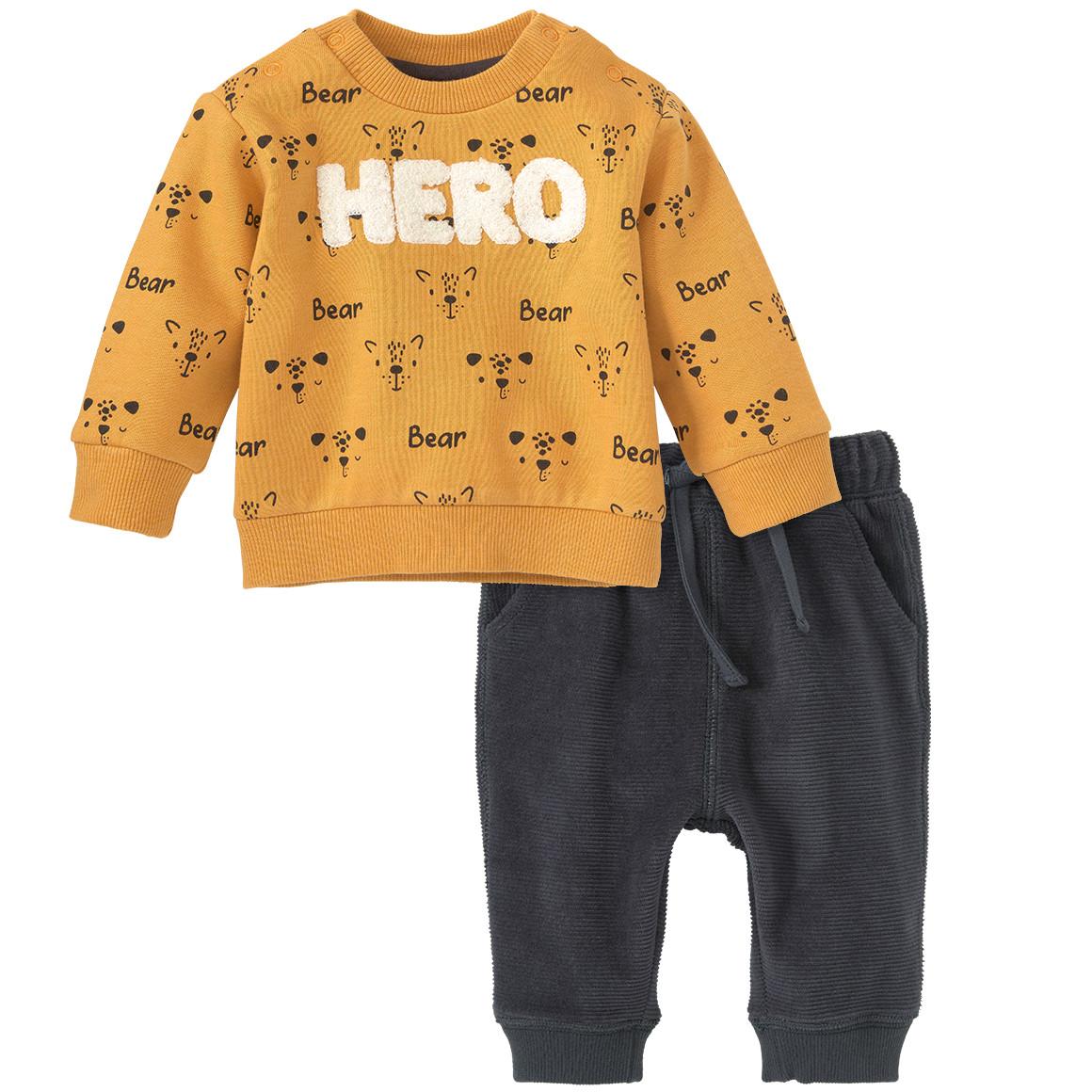 Newborn Pullover und Nicki Hose