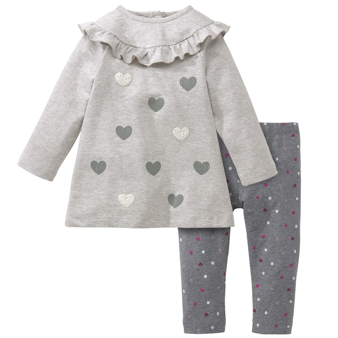 Baby Kleid und Leggings im Set