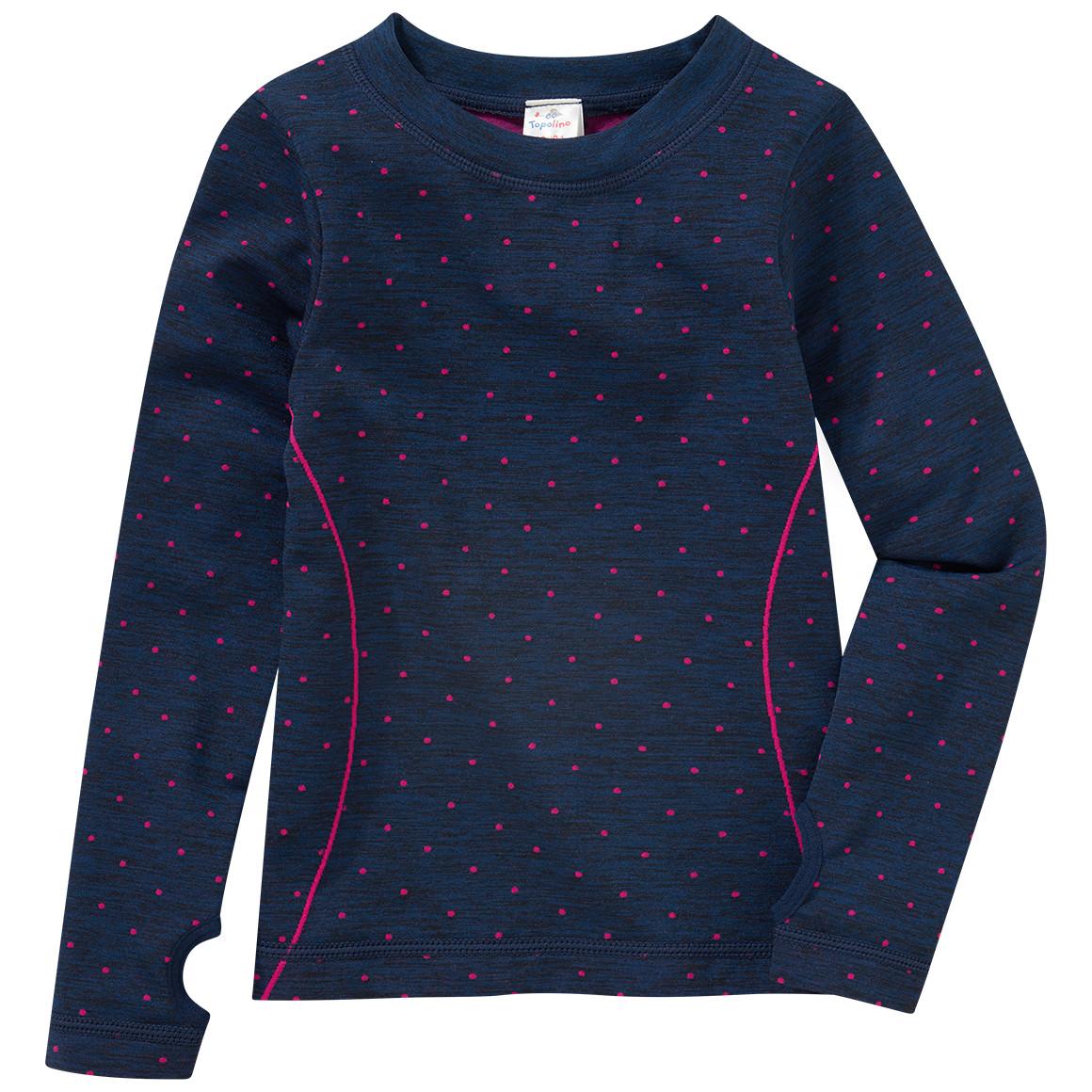 Minigirlwaeschenachtwaesche - Mädchen Sport Unterhemd mit Punkte Allover - Onlineshop Ernstings family