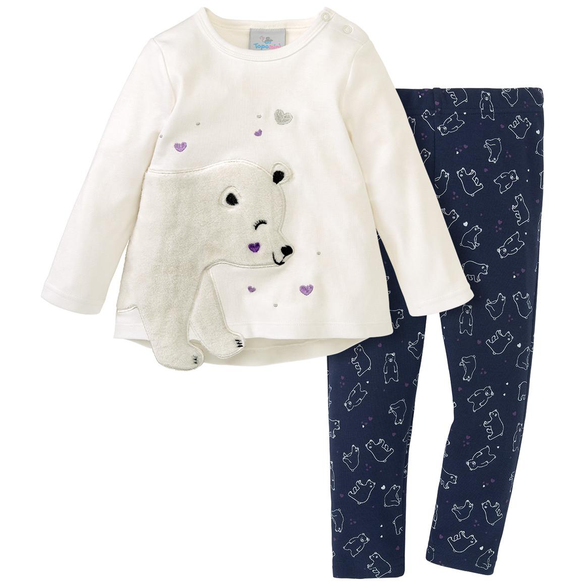 Babywaesche - Baby Schlafanzug mit Eisbär Motiv - Onlineshop Ernstings family