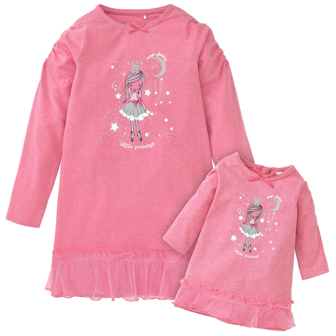 Minigirlwaeschenachtwaesche - Mädchen Nachthemd und Puppen Nachthemd - Onlineshop Ernstings family