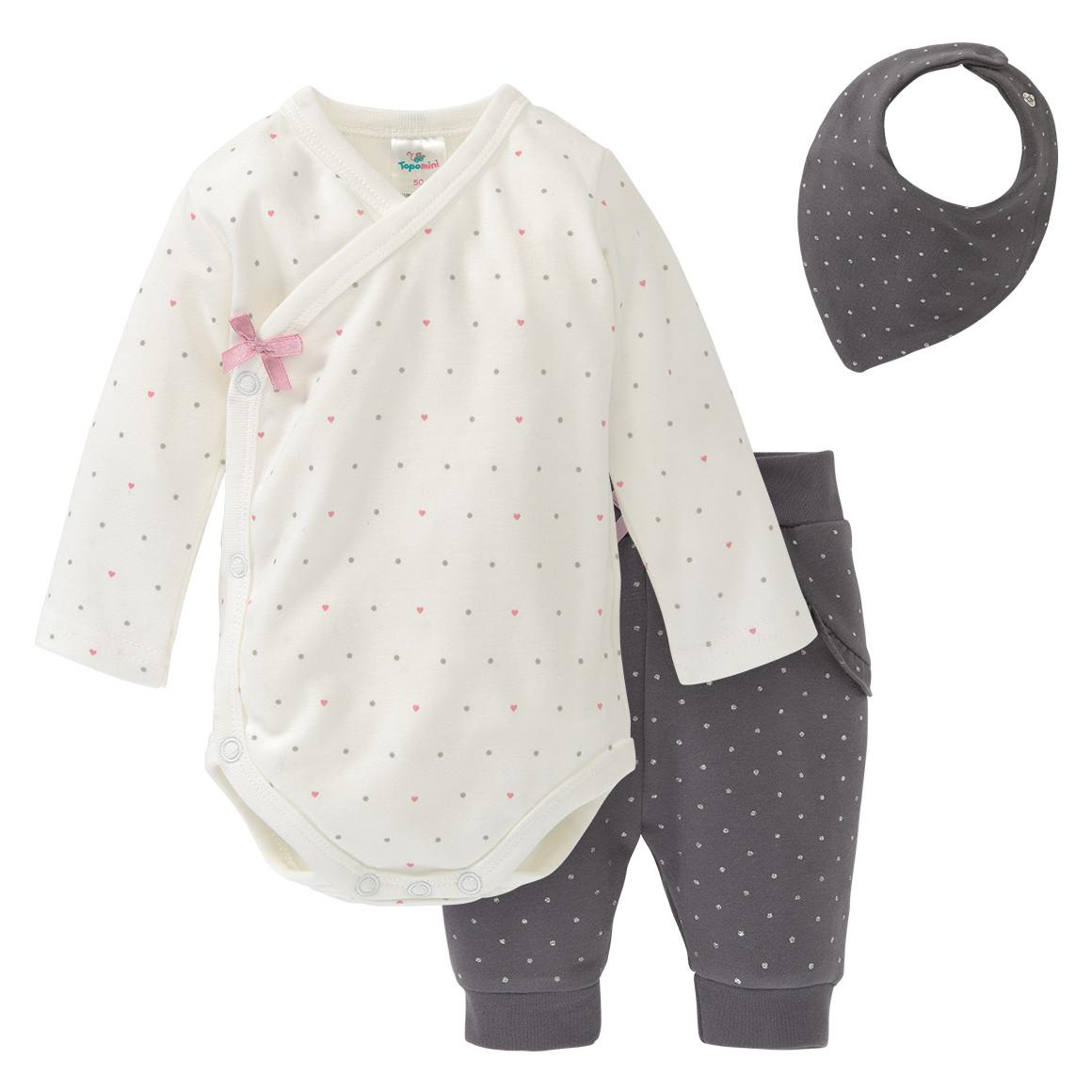Babysets - Newborn Body, Jogginghose und Bandana im Set - Onlineshop Ernstings family
