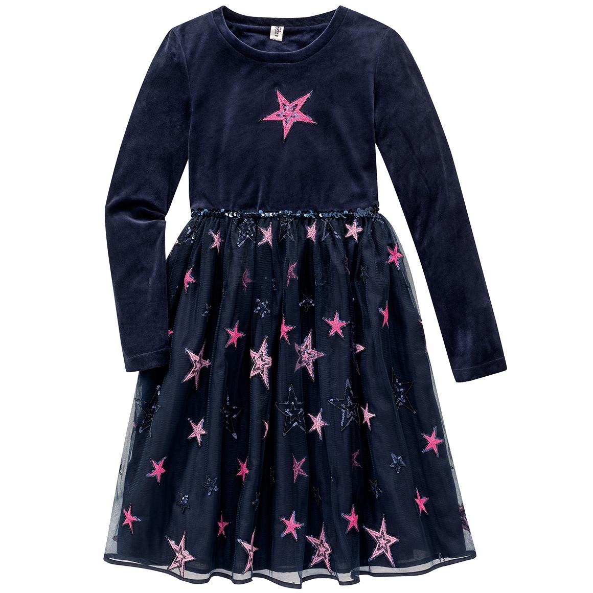 Girlsroeckekleider - Festliches Mädchen Kleid mit Pailletten - Onlineshop Ernstings family