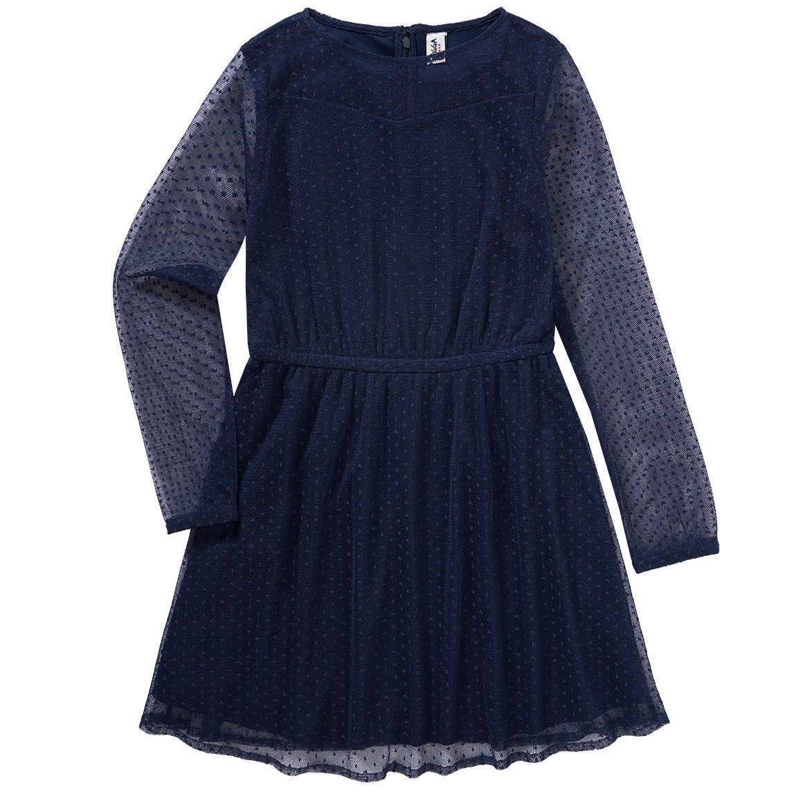 Girlsroeckekleider - Mädchen Kleid mit Mesh - Onlineshop Ernstings family