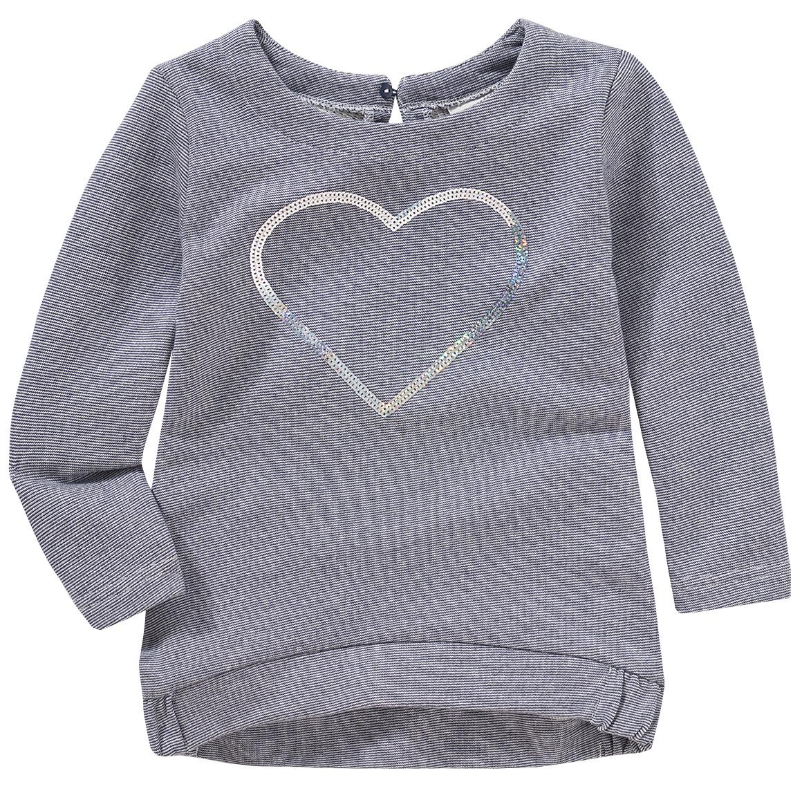 Minigirloberteile - Mädchen Sweatshirt mit Pailletten Applikation - Onlineshop Ernstings family
