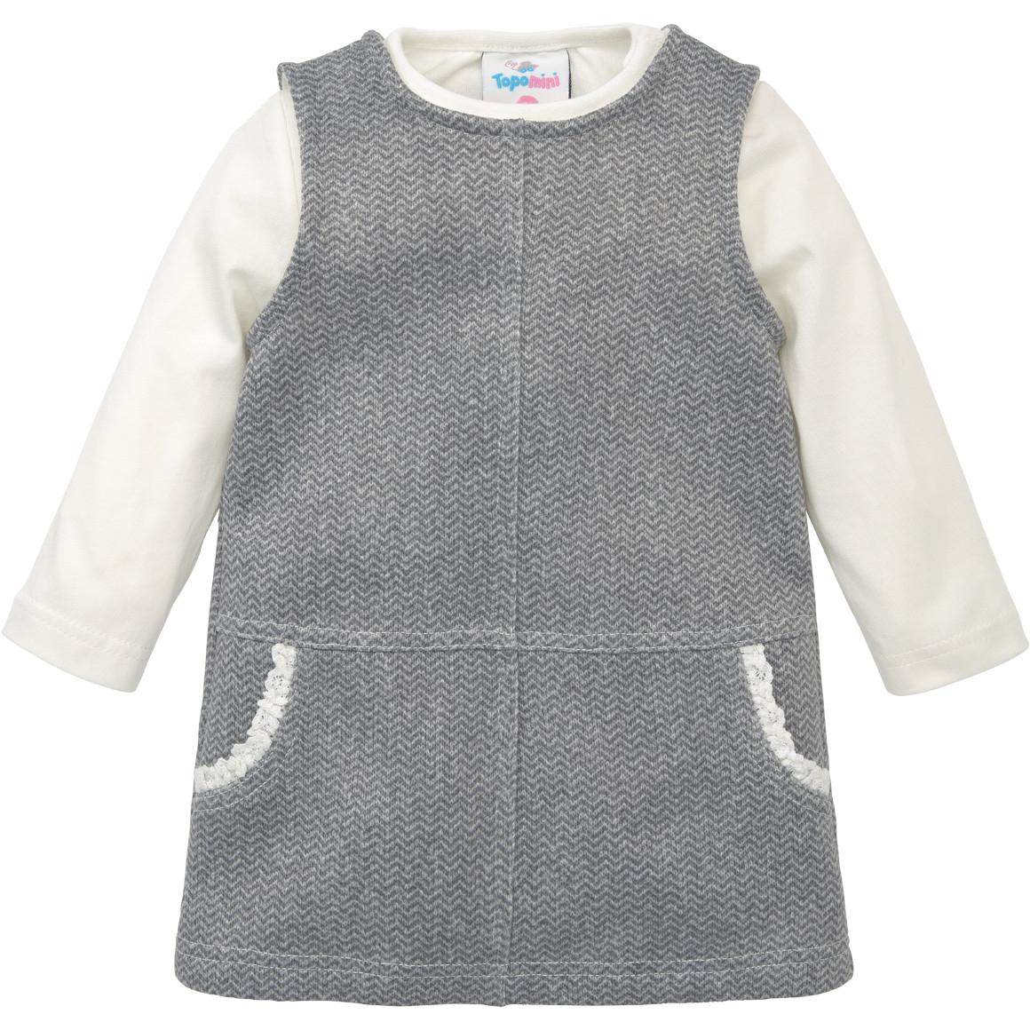 Babykleiderroecke - Baby Kleid und Langarmshirt im Set - Onlineshop Ernstings family
