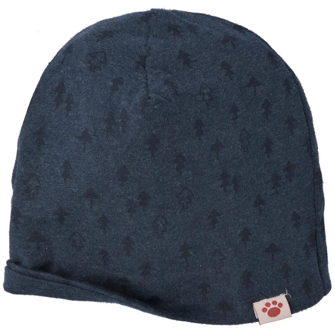 Baby Mütze mit Allover Muster