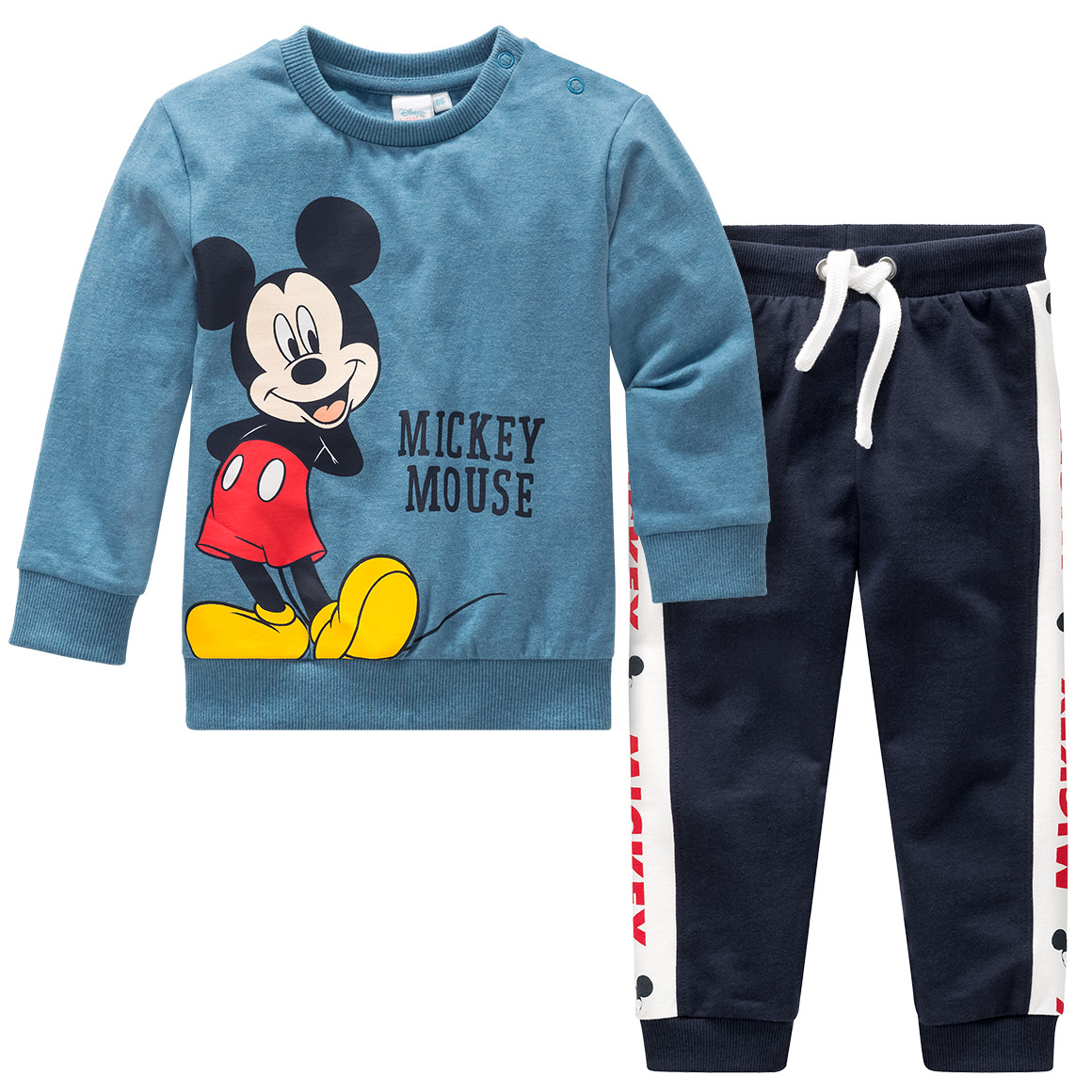 Babysets - Micky Maus Sweatshirt und Jogginghose im Set - Onlineshop Ernstings family