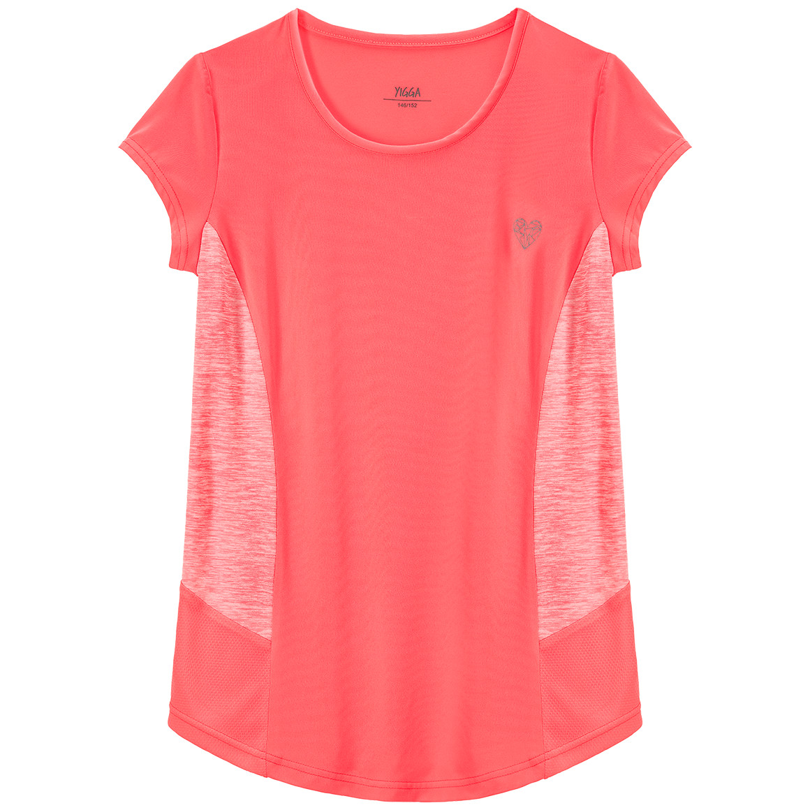 Girlsoberteile - Mädchen Sport T-Shirt mit Mesheinsätzen - Onlineshop Ernstings family