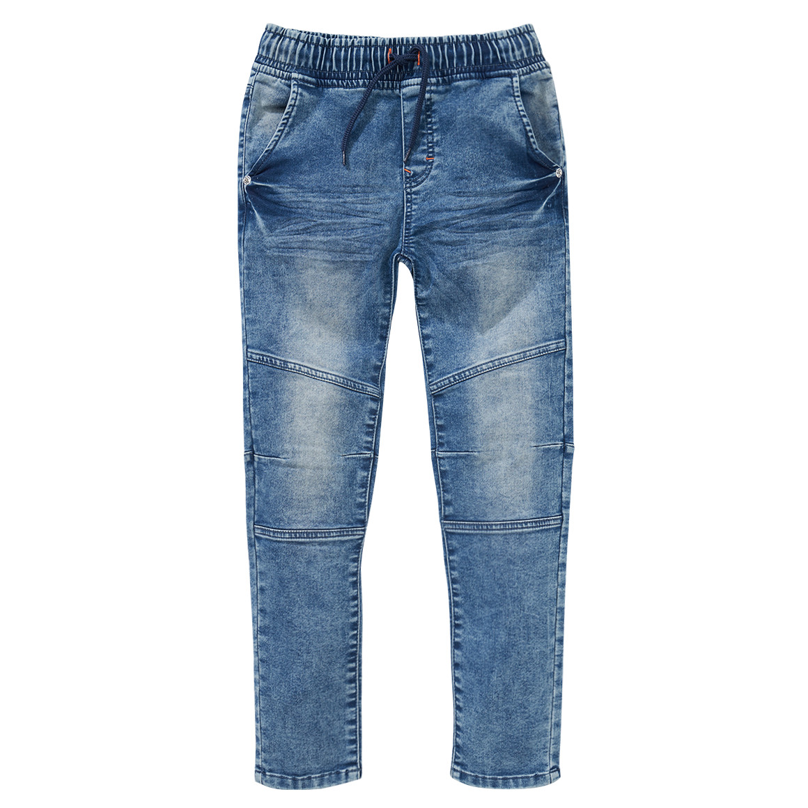 Boyshosen - Jungen Pull on Jeans mit Used Waschung - Onlineshop Ernstings family