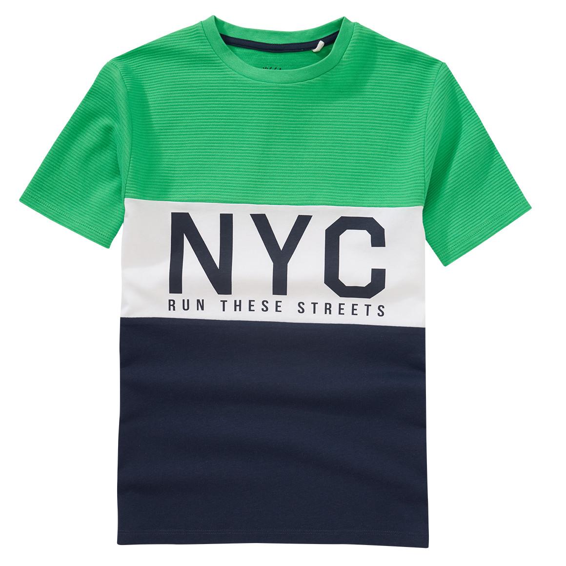 Boysoberteile - Jungen T-Shirt mit Blockstreifen - Onlineshop Ernstings family