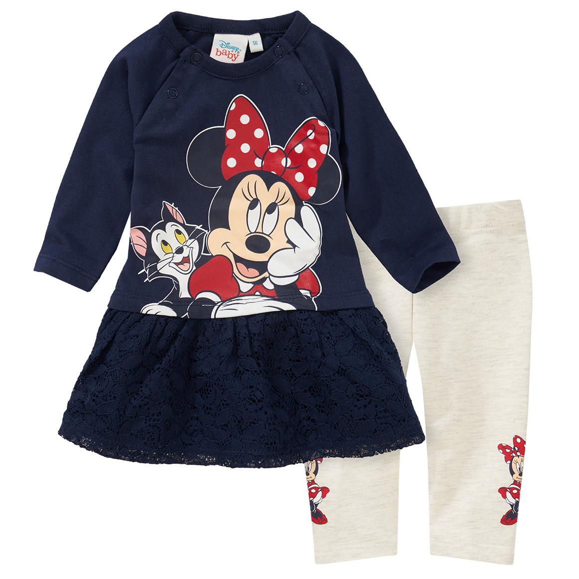 Babysets - Minnie Maus Kleid und Leggings im Set - Onlineshop Ernstings family
